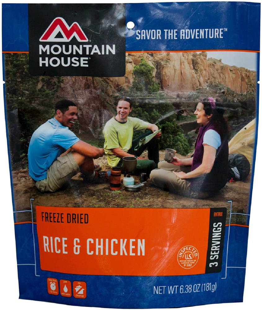 Mountain House Rice and Chicken - 3 Servings
