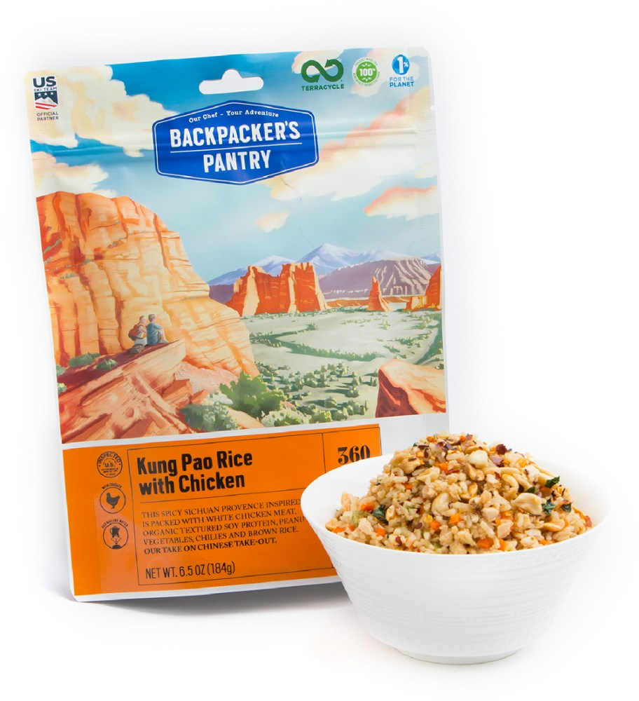 Backpacker's Pantry Kung Pao Rice with Chicken - 2 Servings