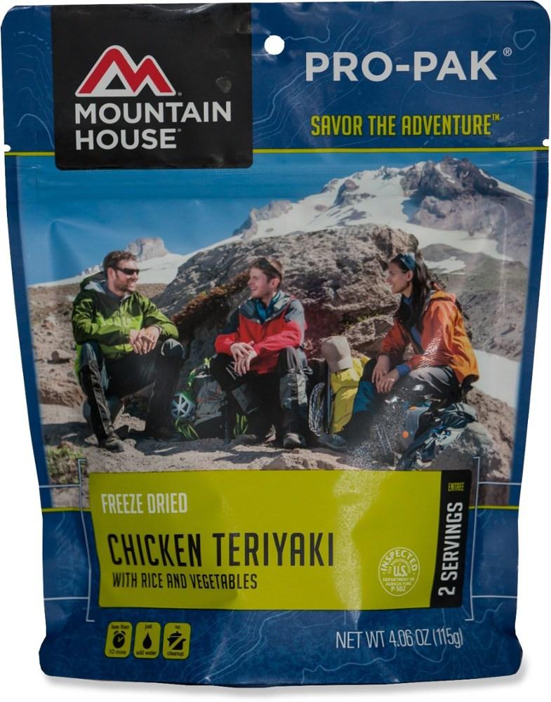 Mountain House Chicken Teriyaki with Rice Pro-Pak - 2 Servings