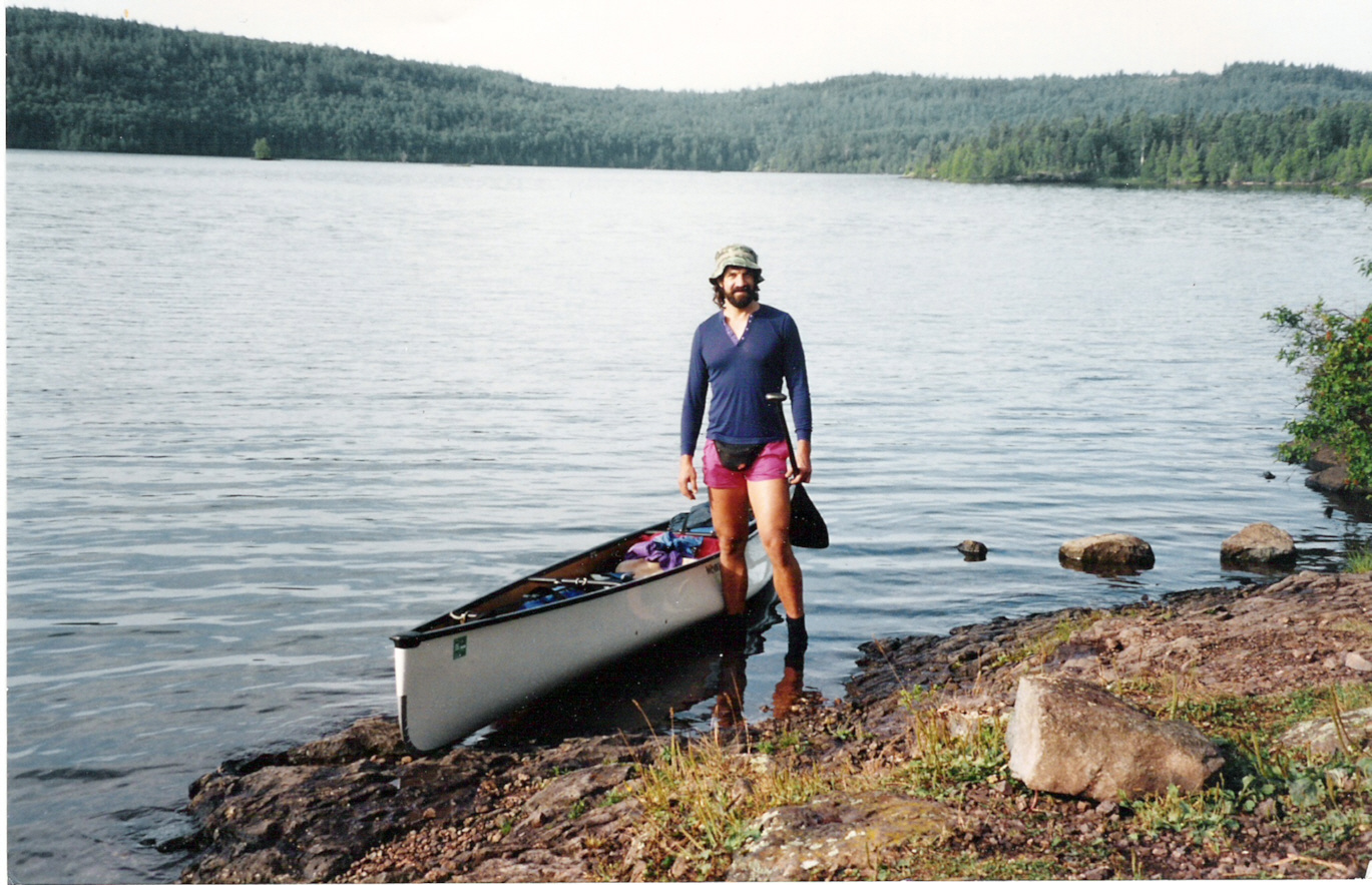 BWCA Dog in Solo Boat Boundary Waters Group Forum: Solo Tripping