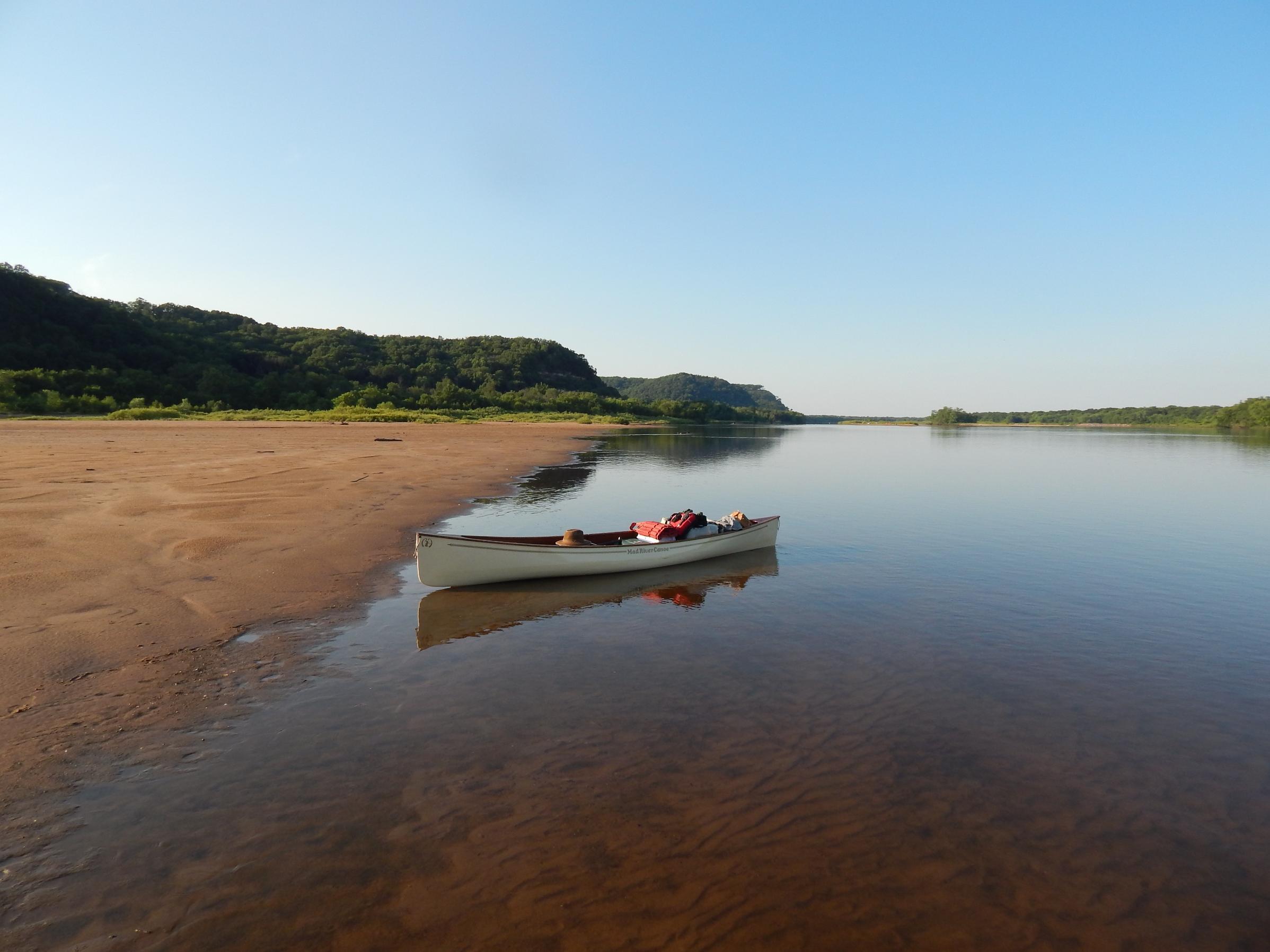 Mad River Traveler-lower Wisconsin River-June, 2015