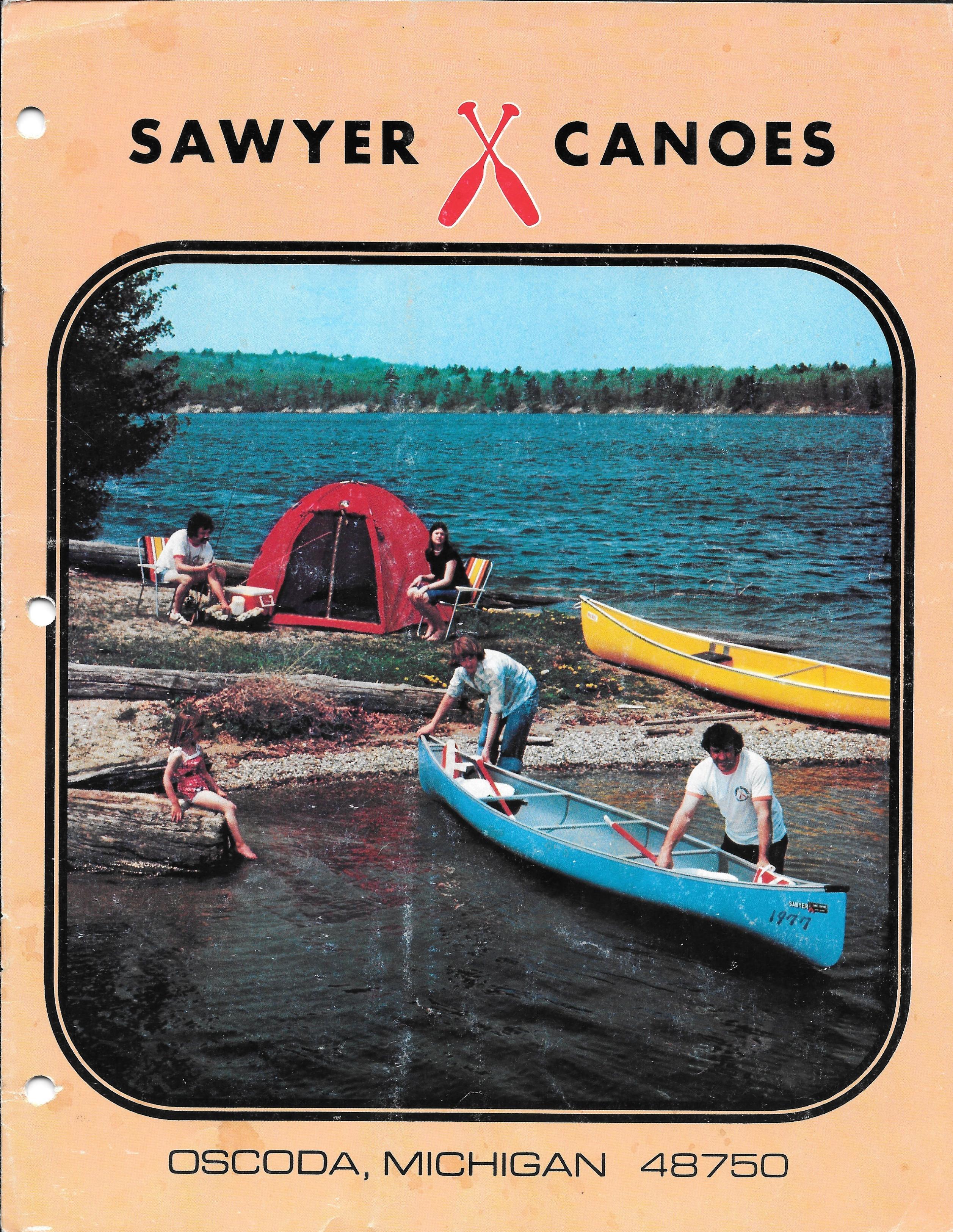 1977 Sawyer Catalog Cover