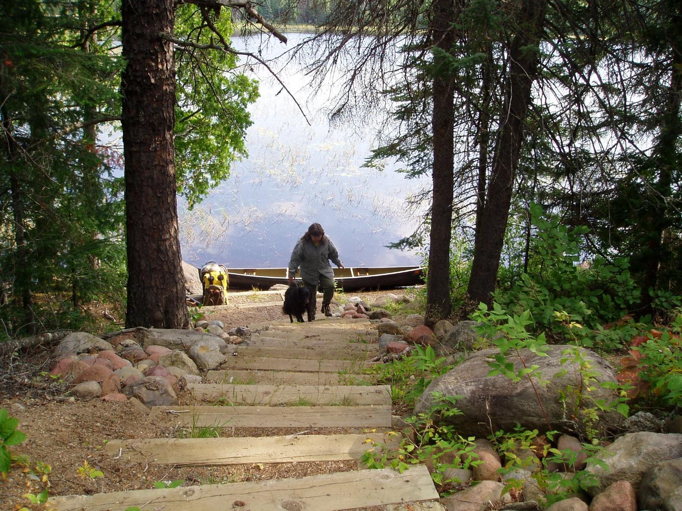 Comfort Lake Portage