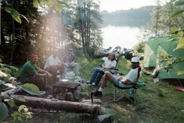 Gun Lake campsite