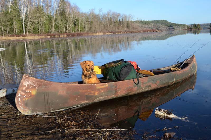 BWCA Aluminum Canoe Boundary Waters Listening Point