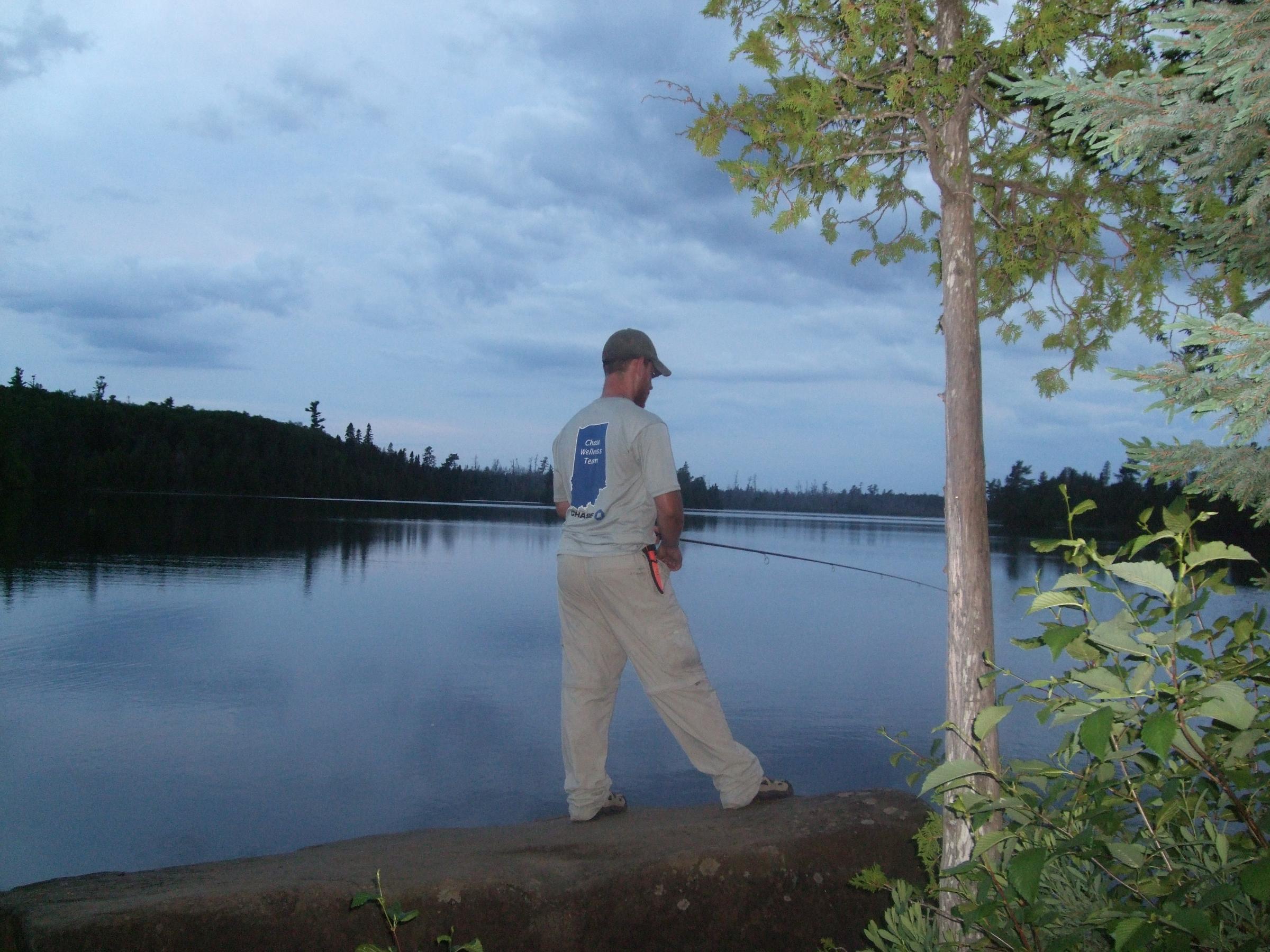 Fishing on Gaskin