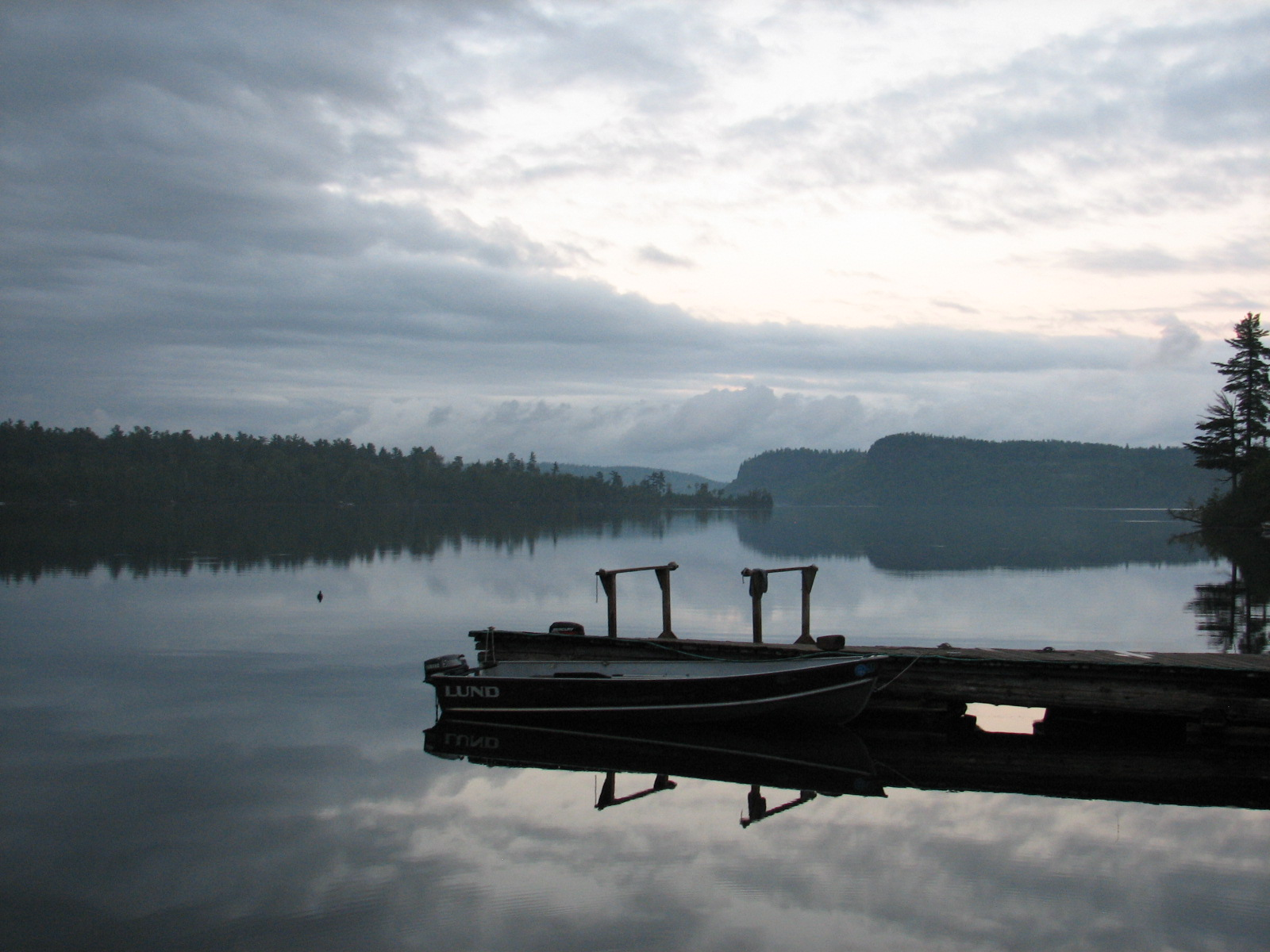 Dock at Clearwater Lodge