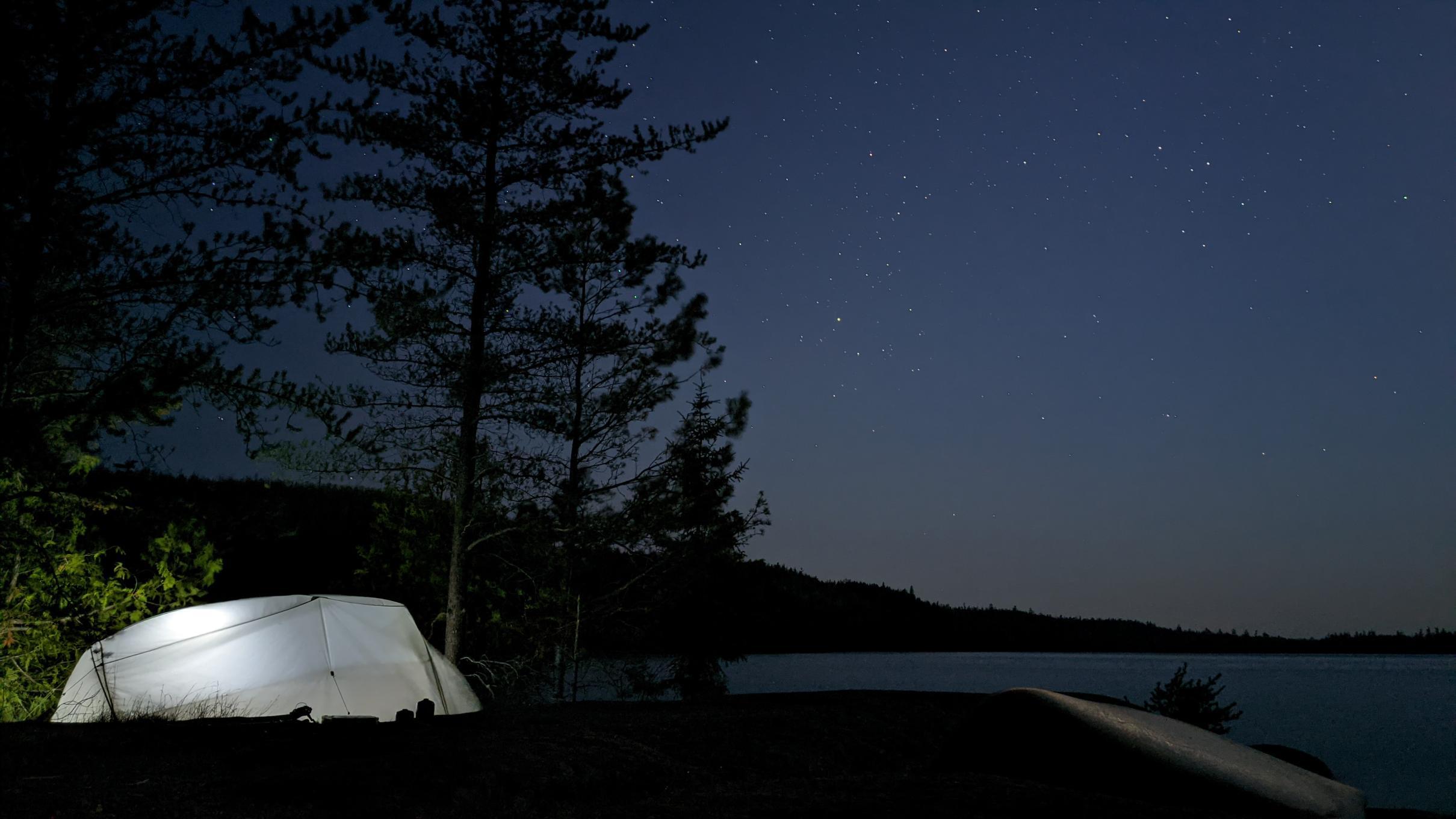 Lake Winchell Starry Night