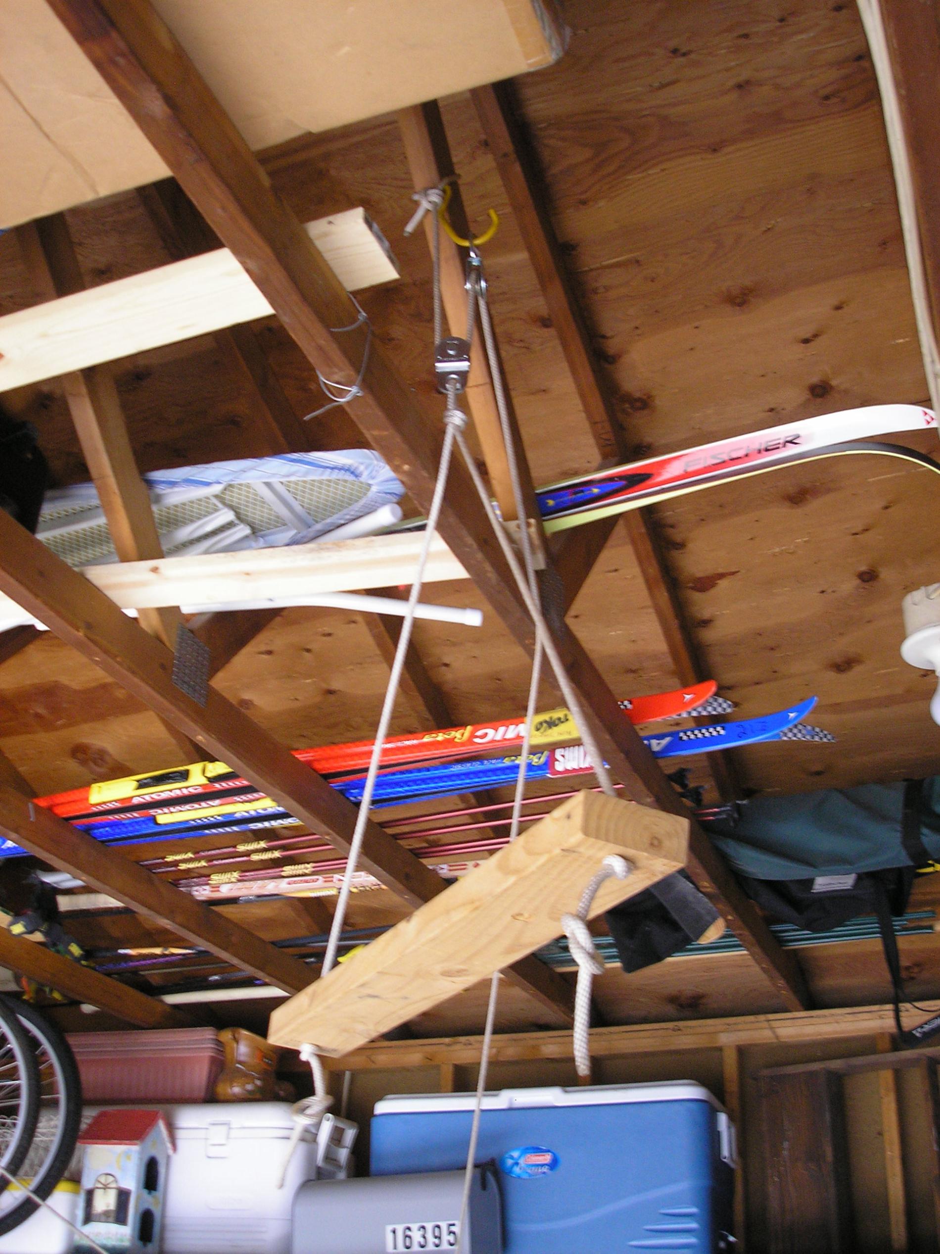 BWCA Canoe storage hoist system Boundary Waters Gear Forum