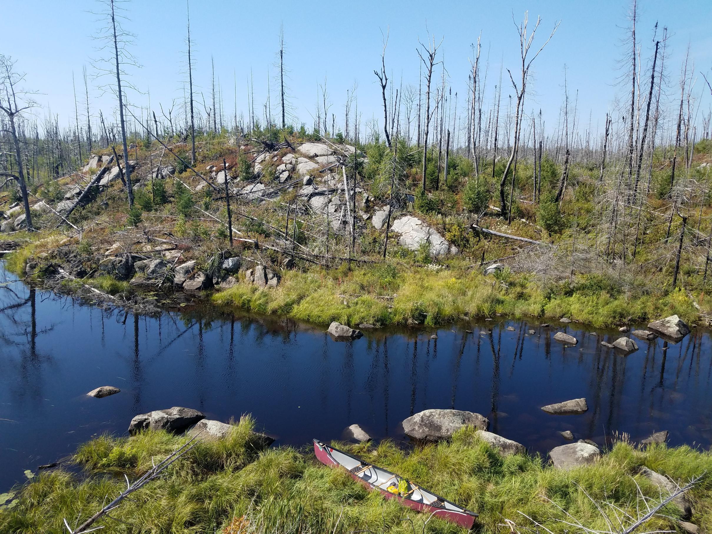Perent River portage