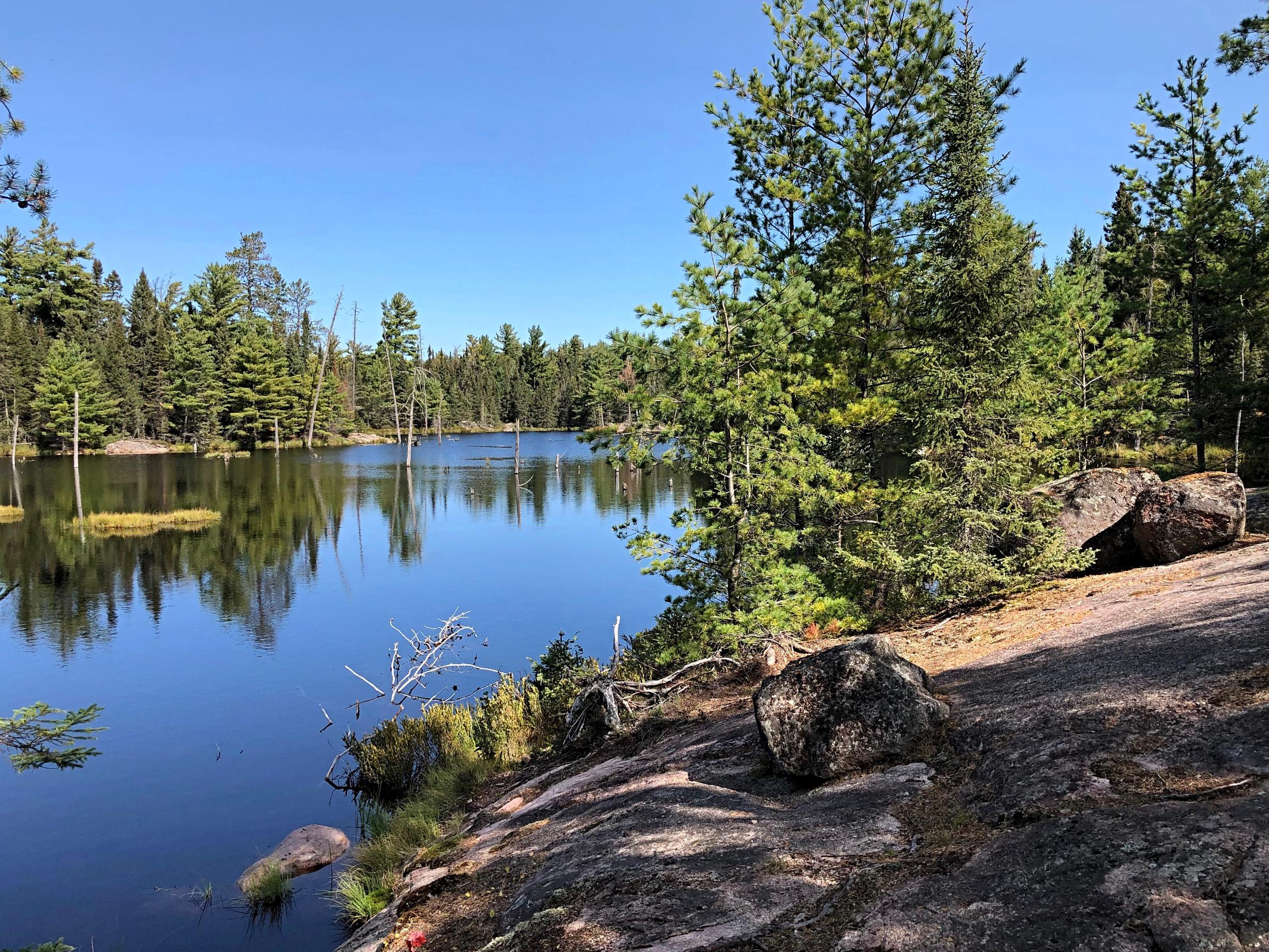Unnamed Lake along Angleworm Portage