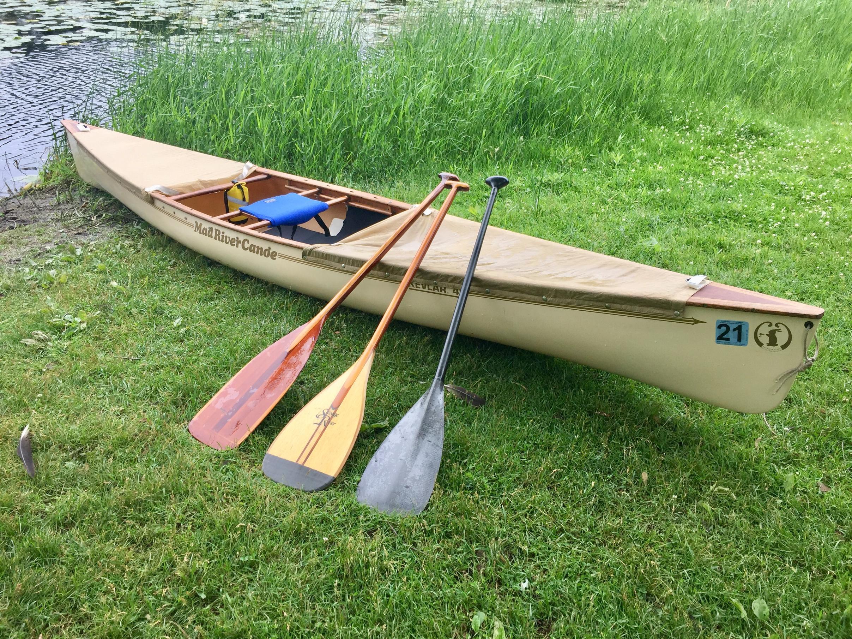 BWCA SOLD:MRC Slipper Solo Kevlar Canoe Boundary Waters