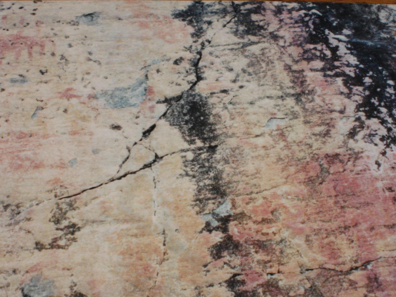 Pictographs on Fishdance
