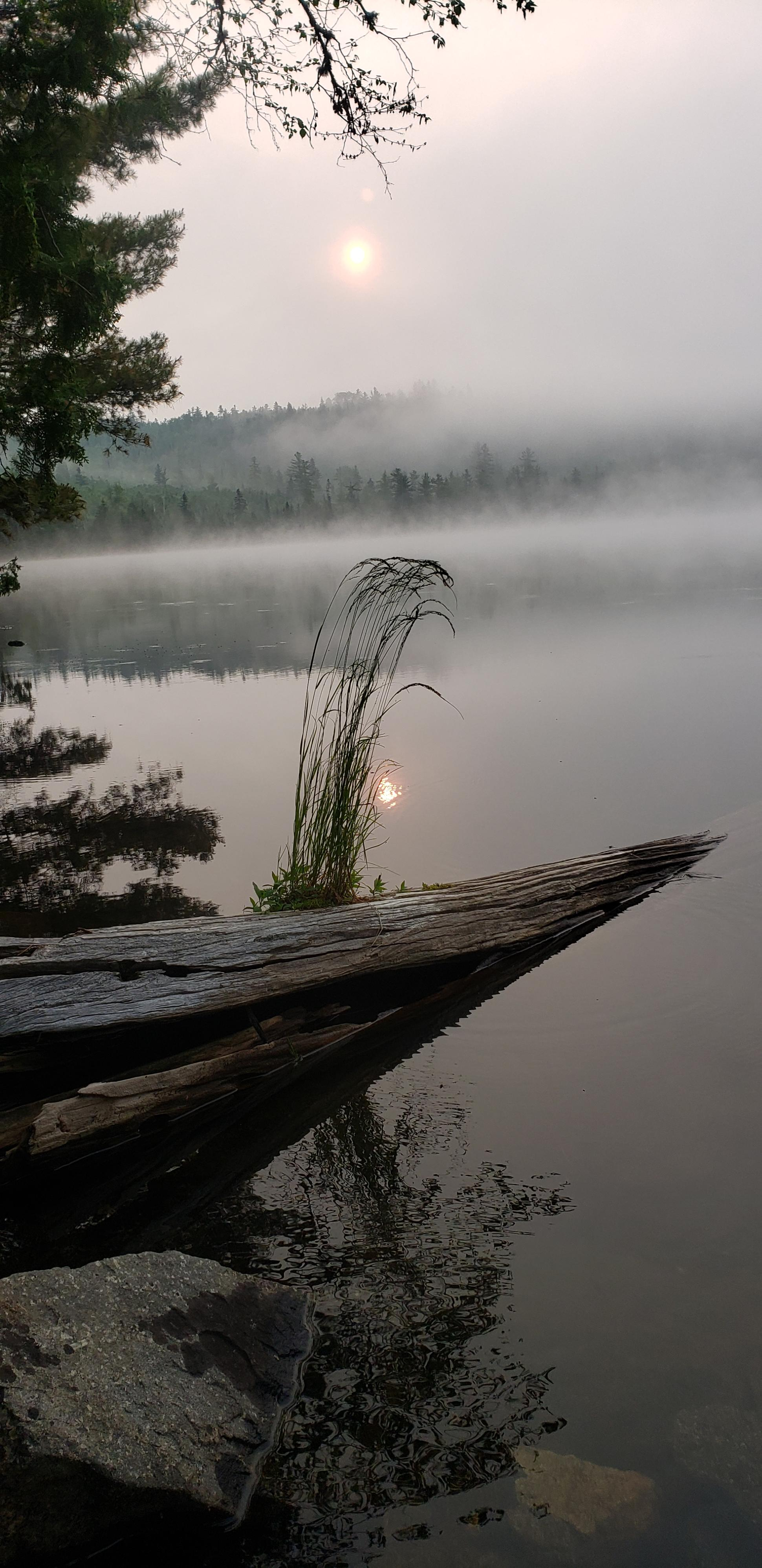 Sunrise,Little Caribou,July 7, 2019, 6:36am