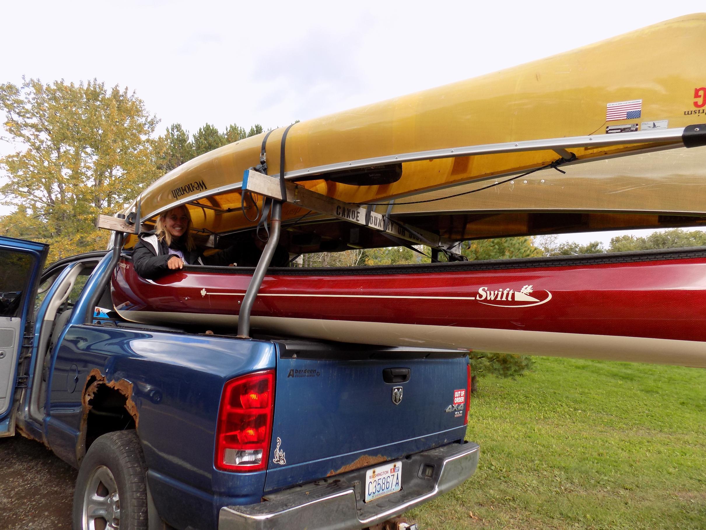 Kendra in Canoe