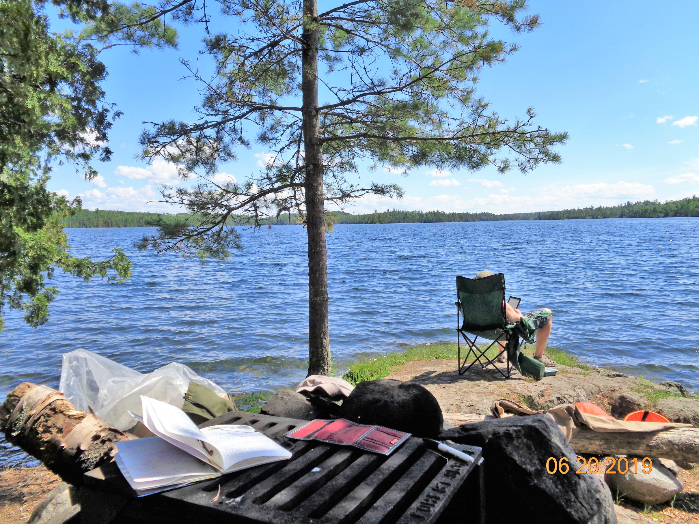 NFS Camp Site #2, Birch Lake