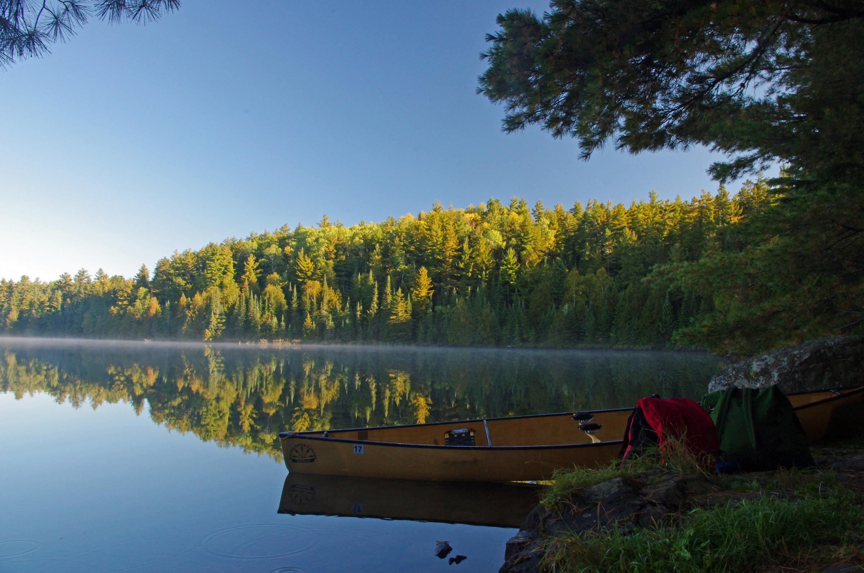 CanoePacksJohnLake