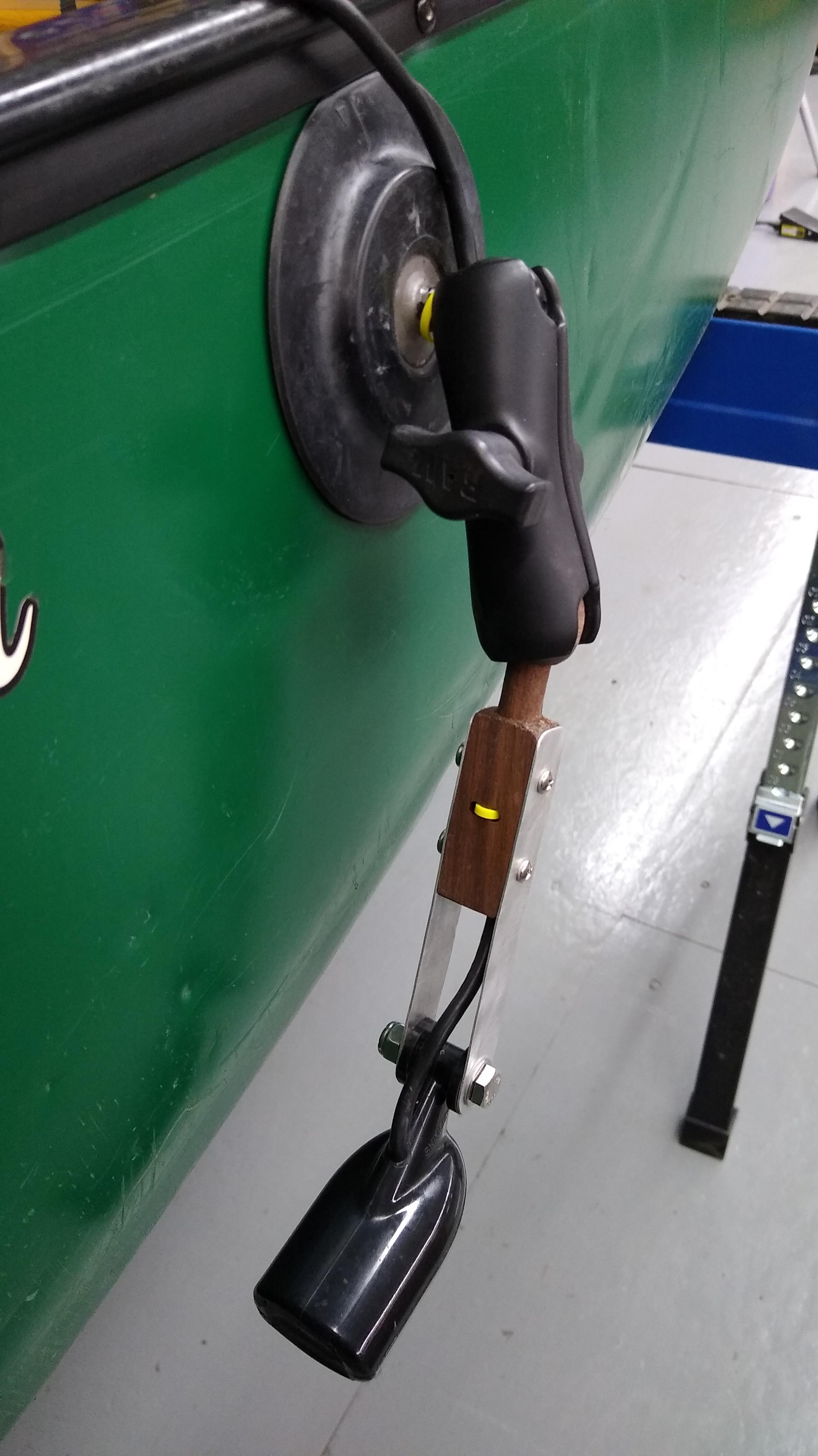 transducer mount