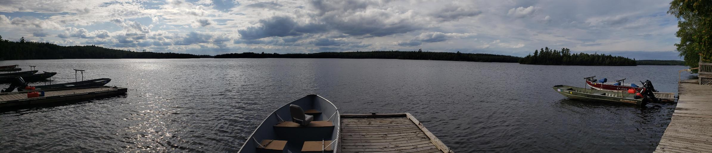 Moose Lake from Outfitters