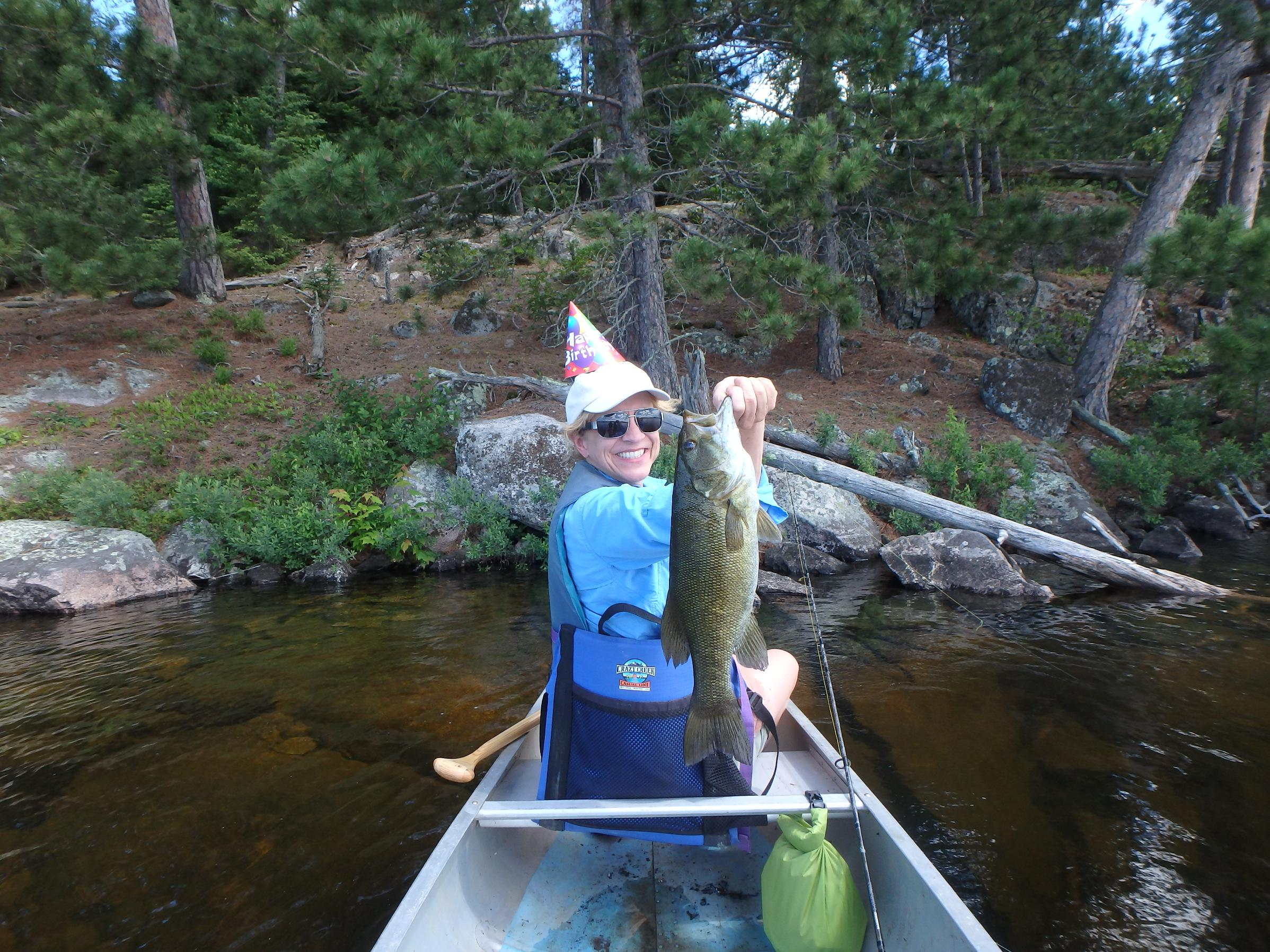 Bwca Mrs Lundos Birthday Bass Boundary Waters Fishing Forum