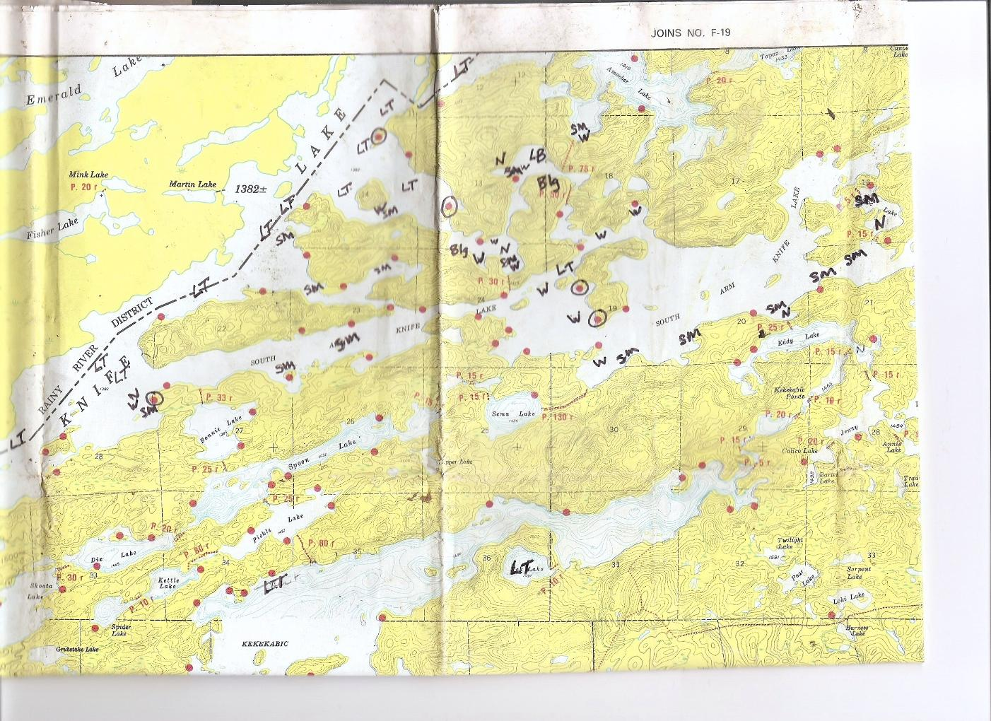 BWCA Lake trout in Knife lake Boundary Waters ... Map Of Bwca Lakes on map of mn lakes, map of ely lakes, map of minnesota lakes, map of eastern united states lakes, map of gunflint trail lakes,