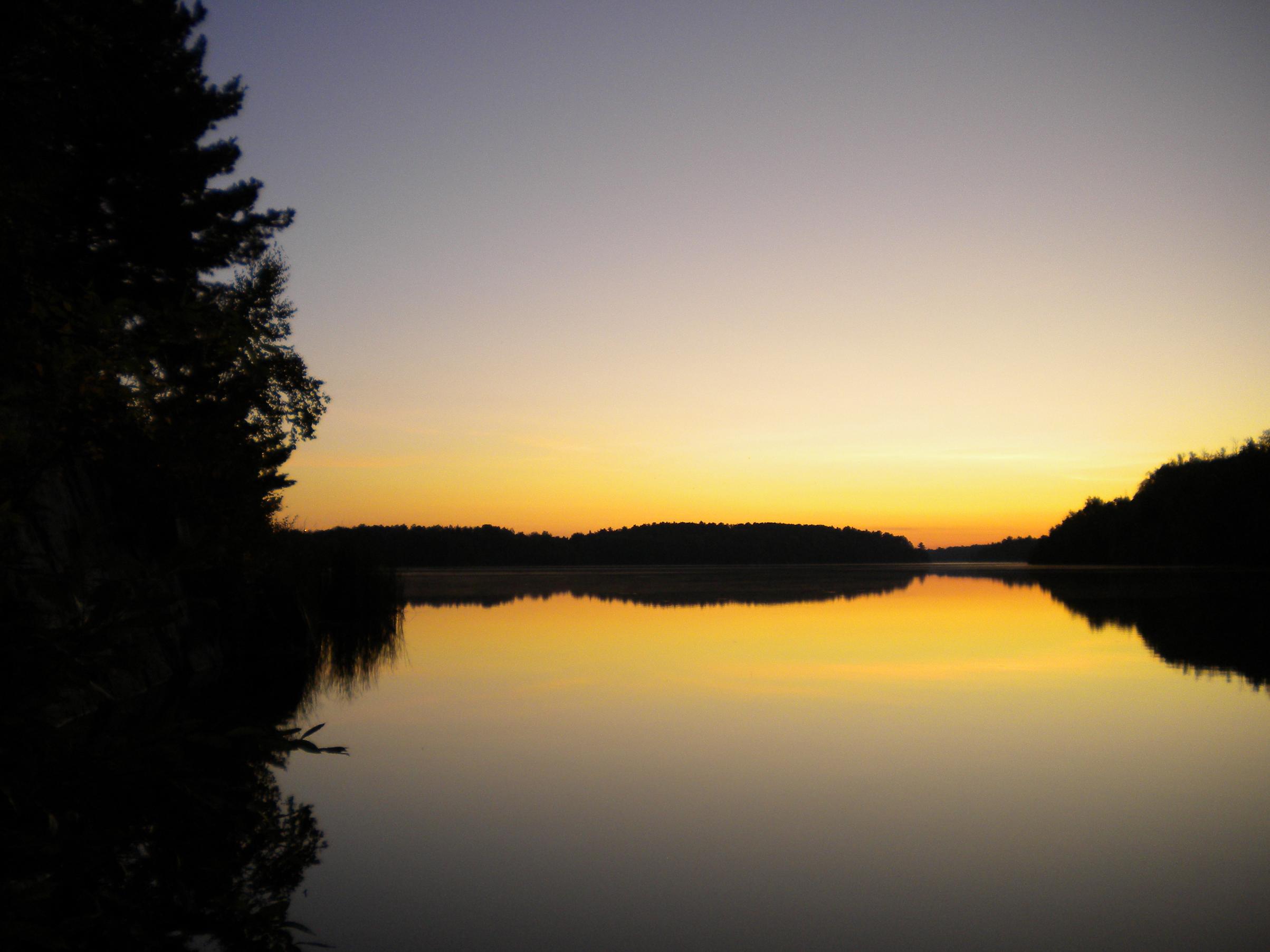 Miners Lake sunrise