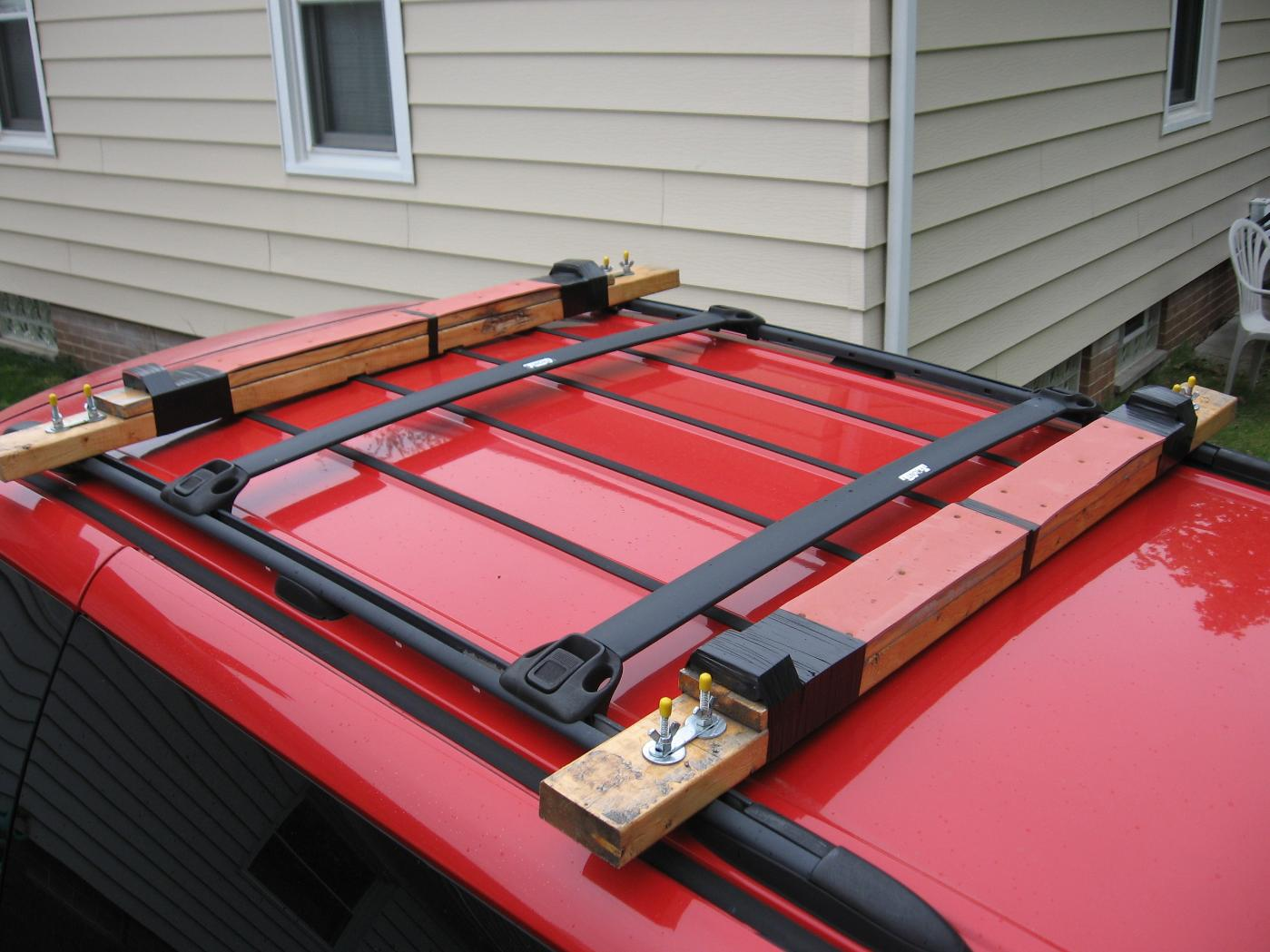 Bwca 2x4 Roof Rack Boundary Waters Listening Point