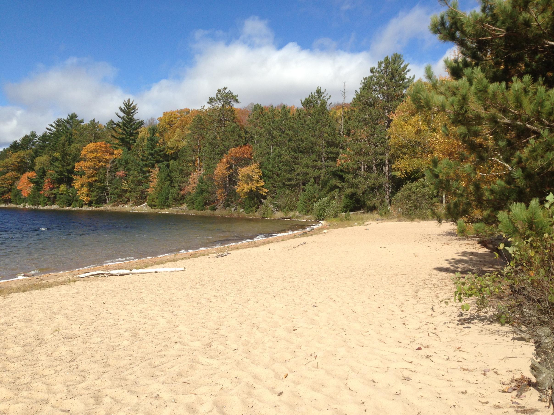 Clark Lake Beach