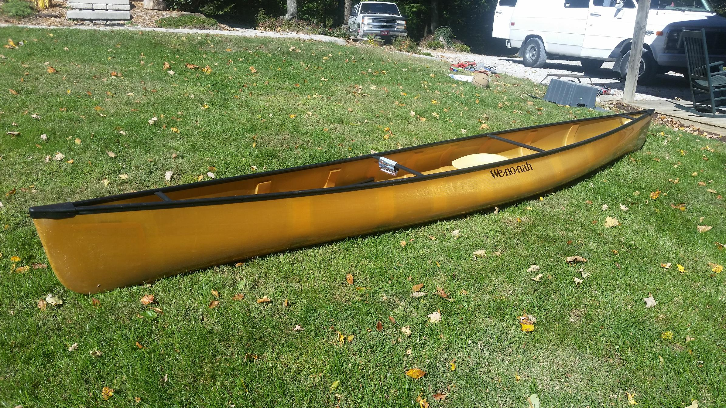BWCA For Sale: 2014 Wenonah Voyager Kevlar UL Boundary Waters Items