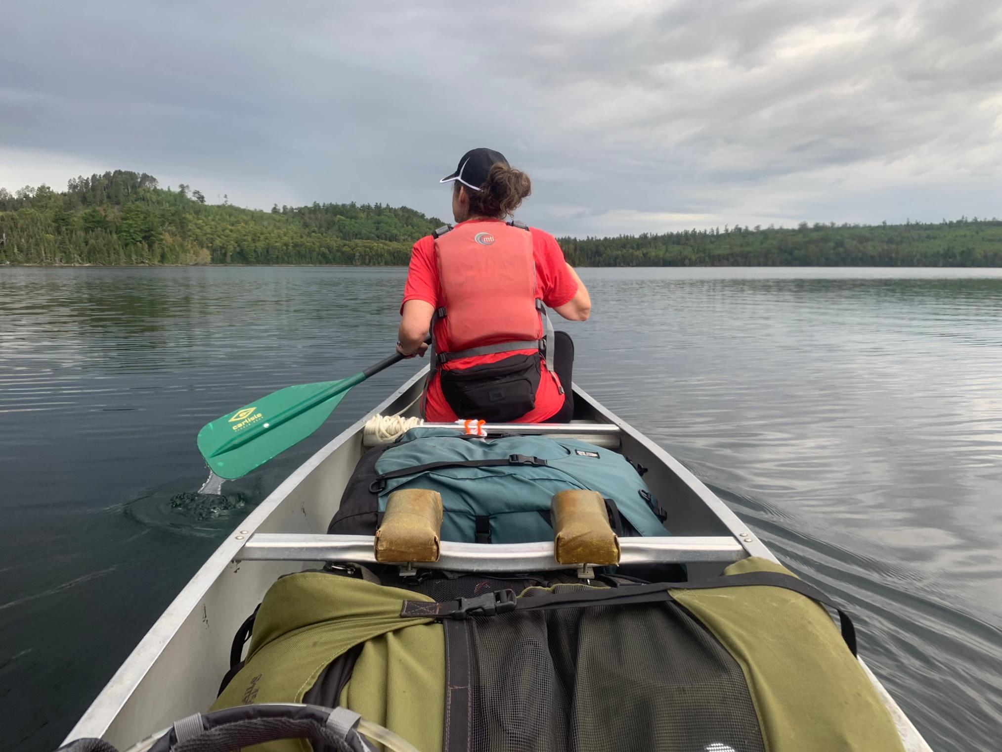 Paddling Bearskin Lake
