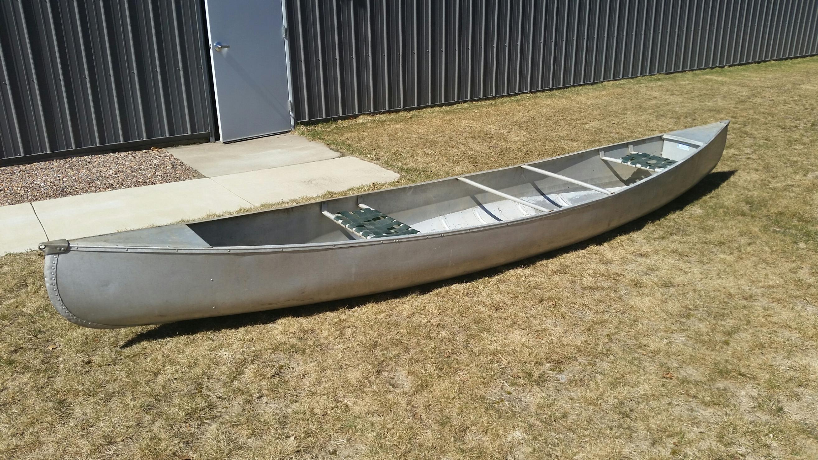 BWCA 17 aluminum canoe id? Boundary Waters Gear Forum