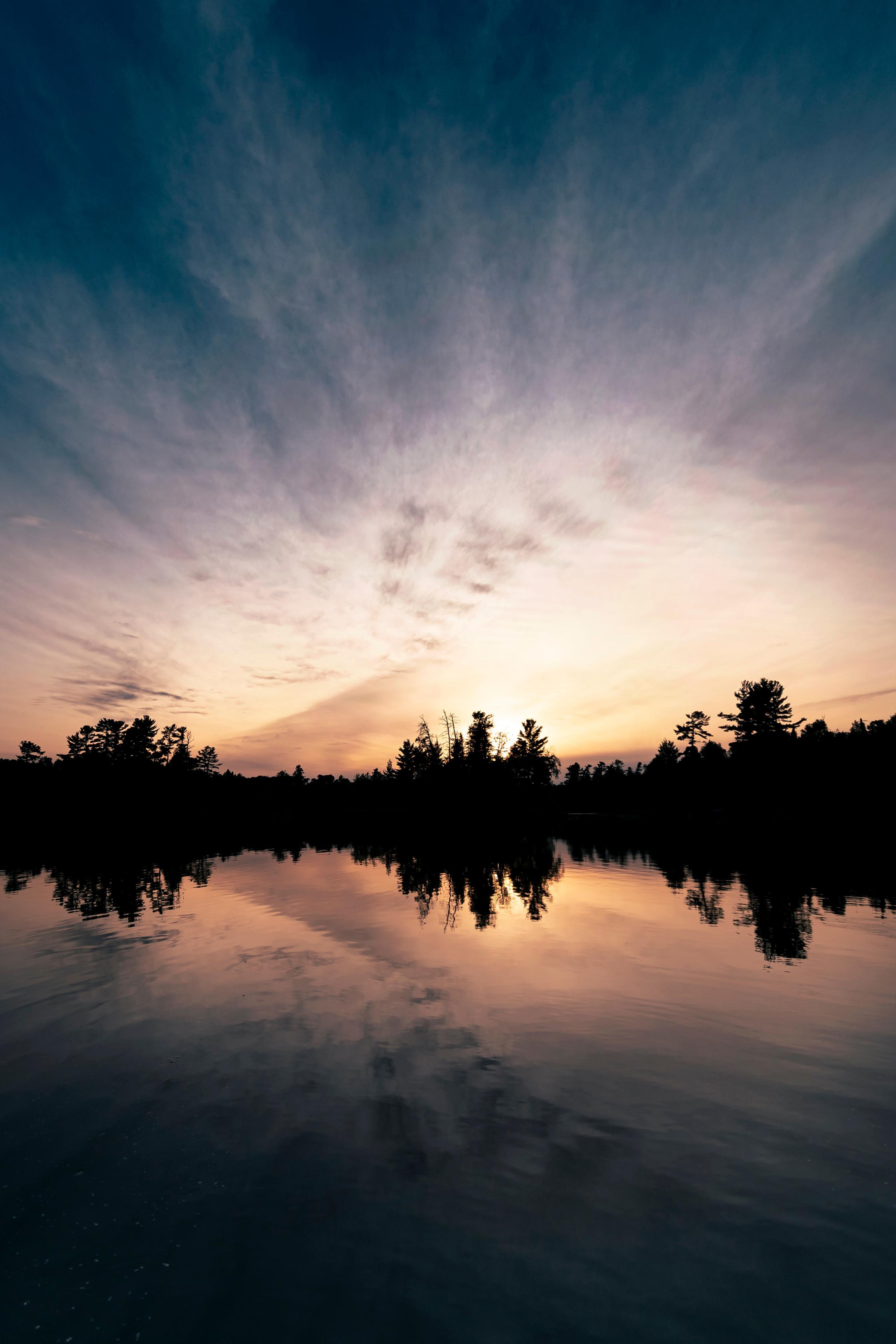 Sunset over Lac La Croix