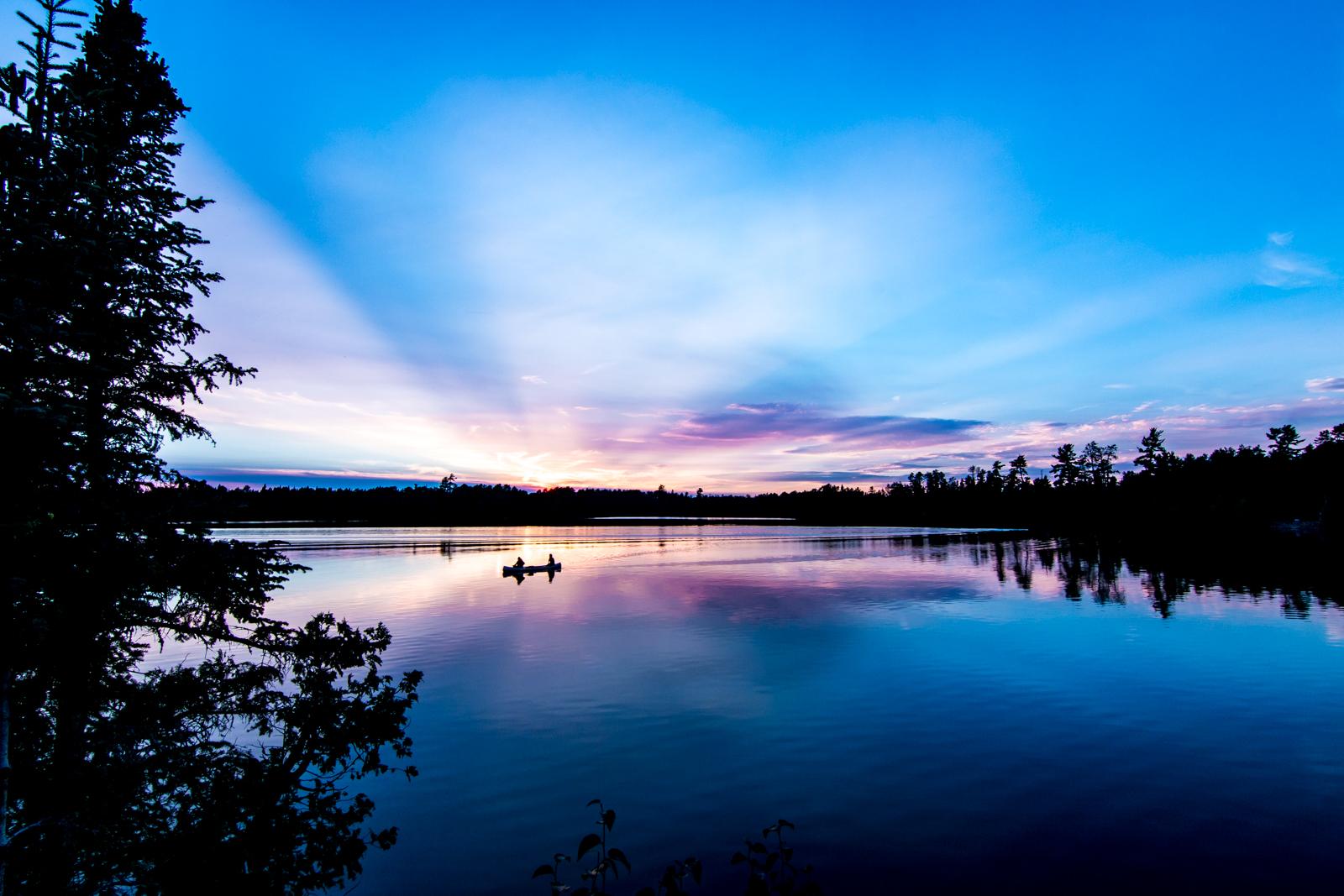 Saganaga Sunset