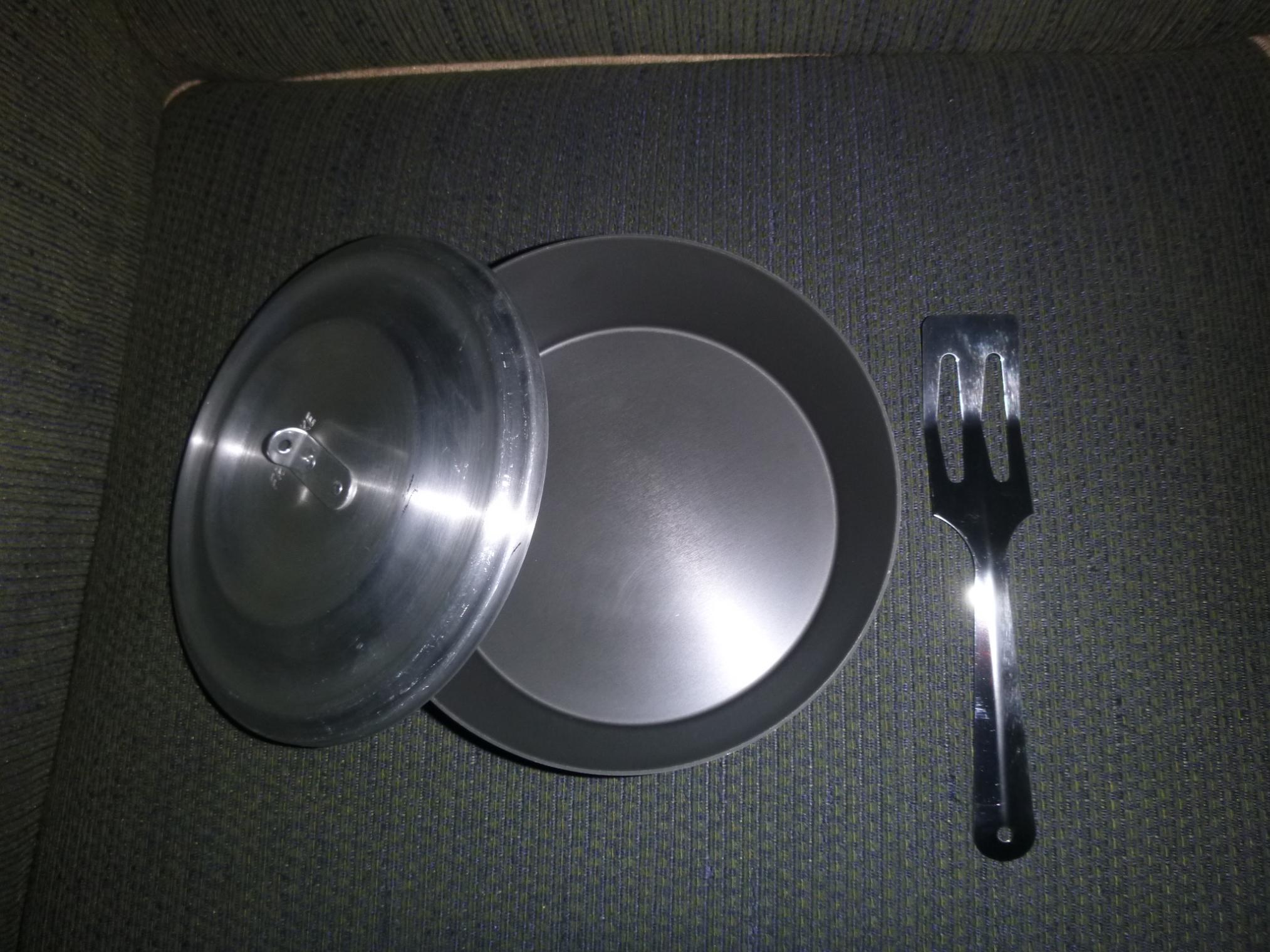 Frybake Pan/Lid/Spoon