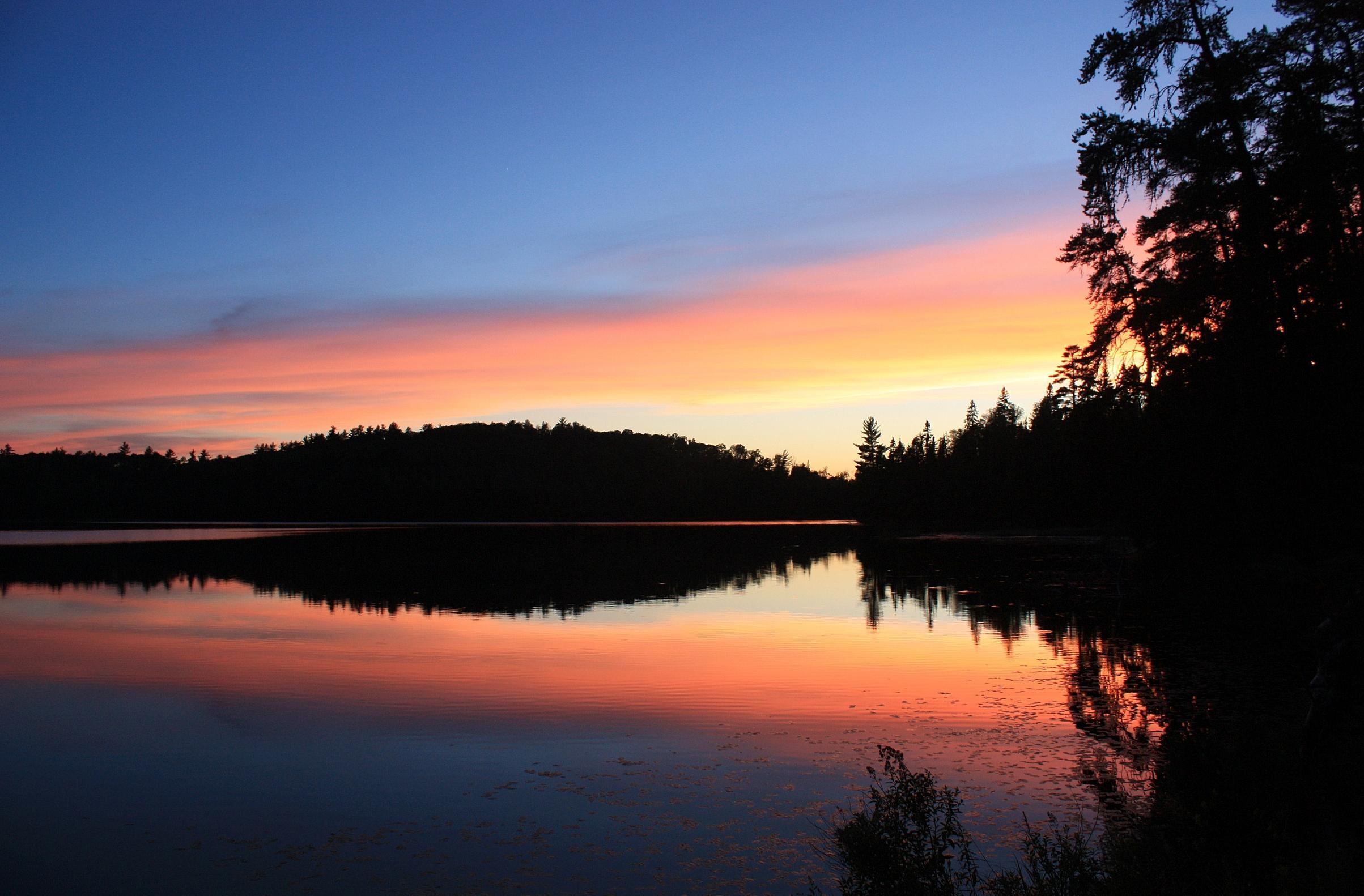 Sunset on Niki Lake