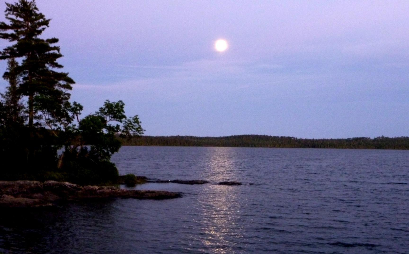 Moon over North Bay, QPP