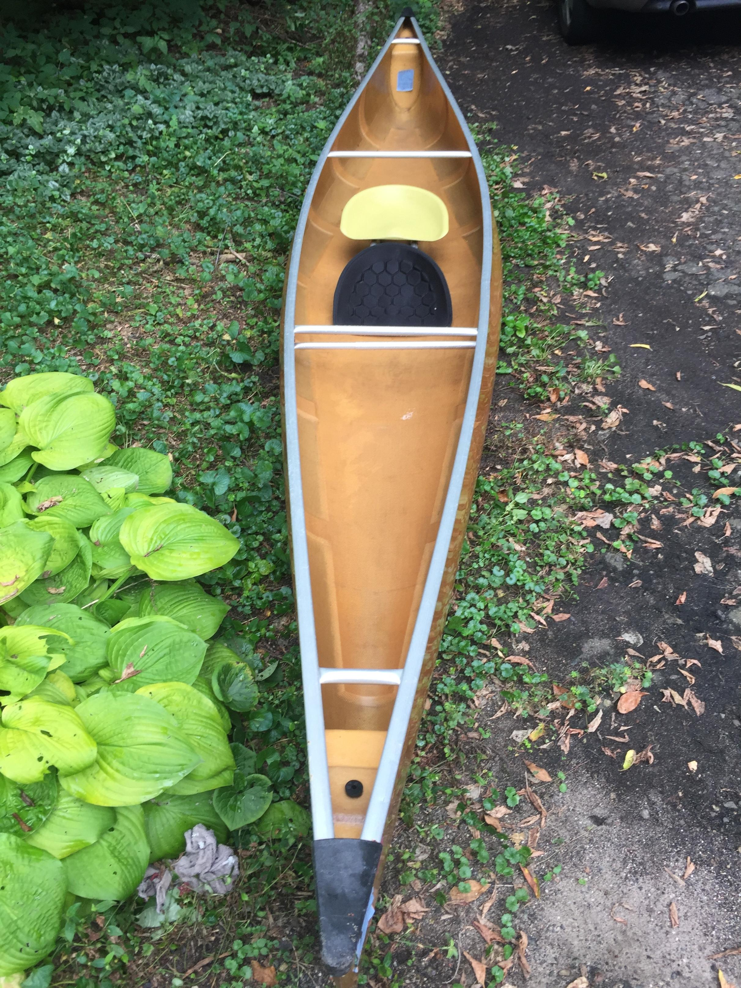BWCA Wenonah Prism Solo Canoe Boundary Waters Items For Sale
