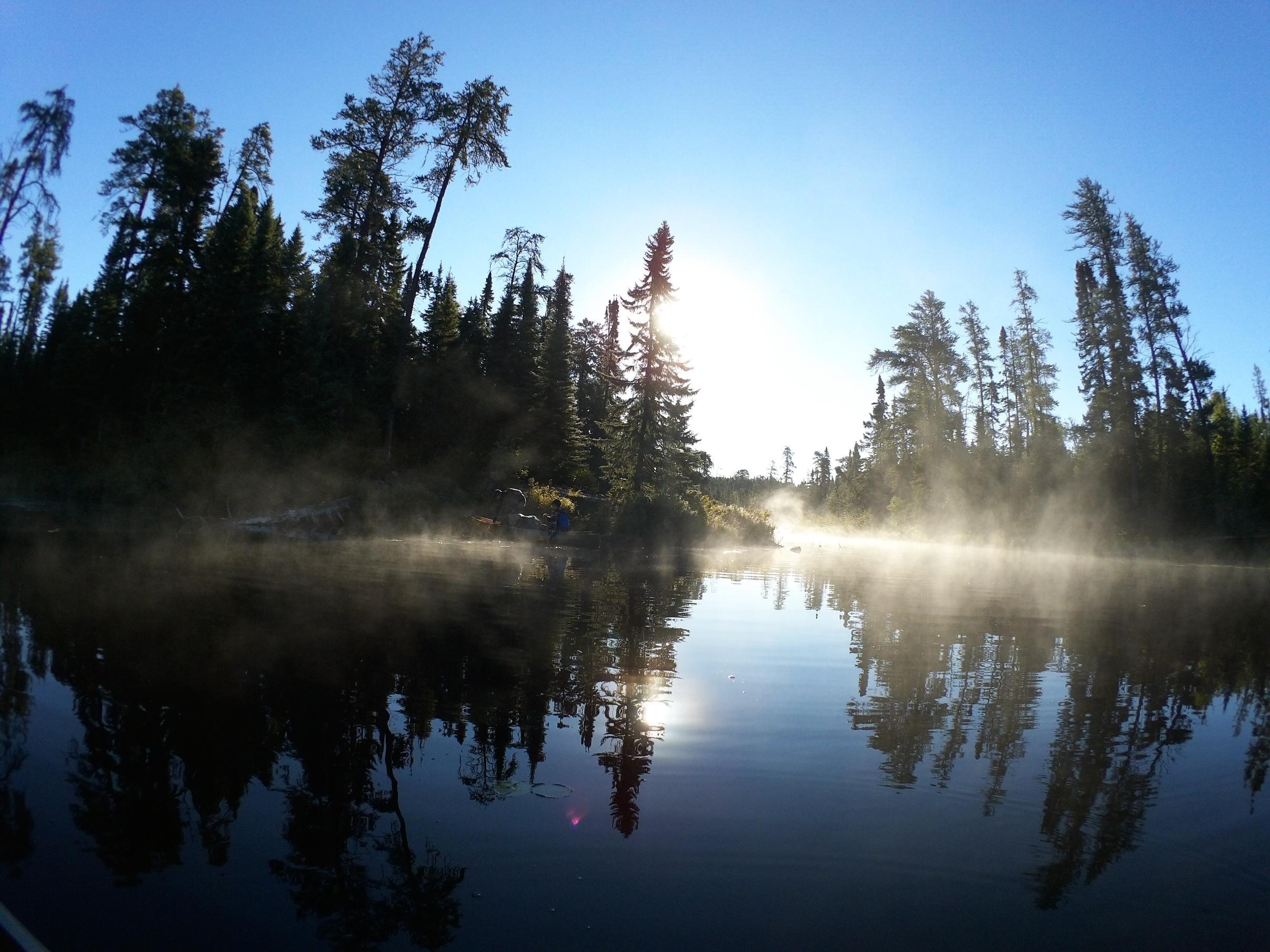 Weird Lake Morning