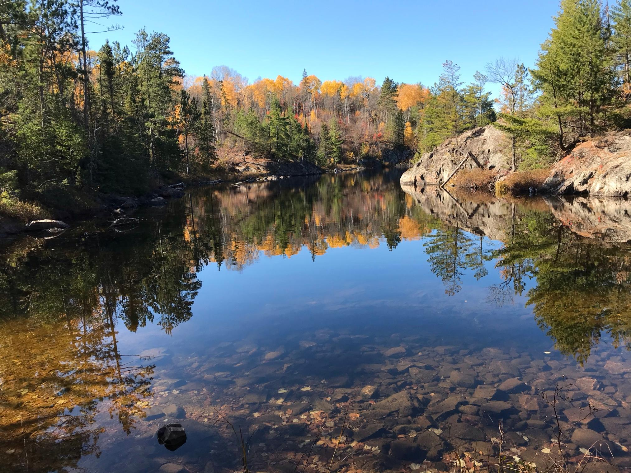 Slim Lake Entry