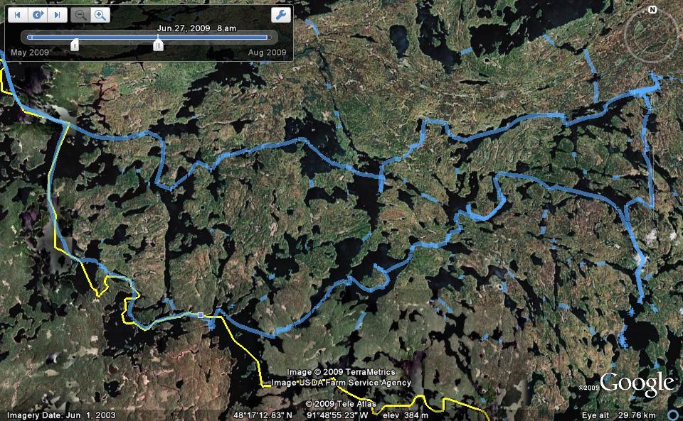 Zz. 2009 Quetico canoe route