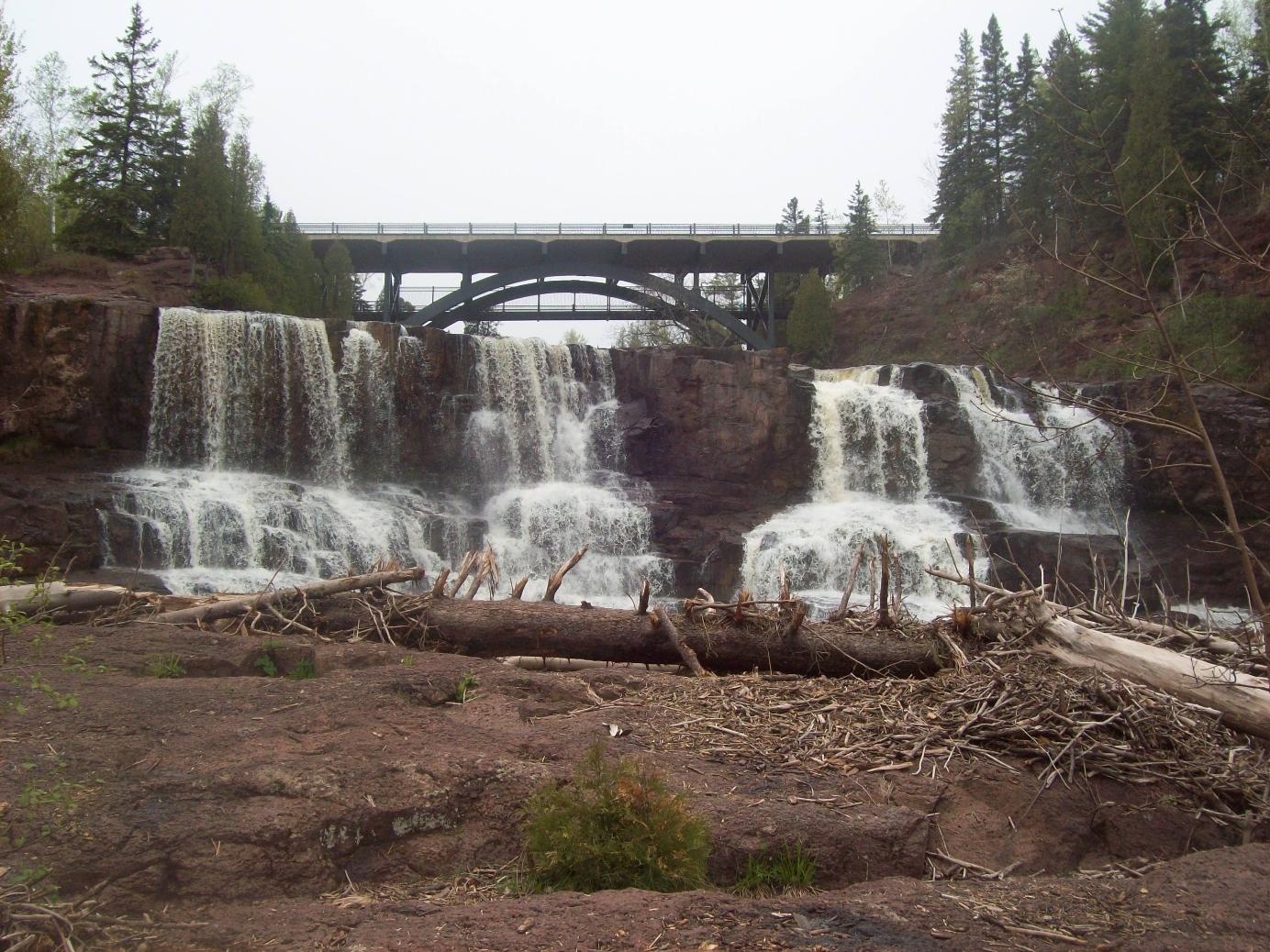 Gooseberry Falls - Lower Falls