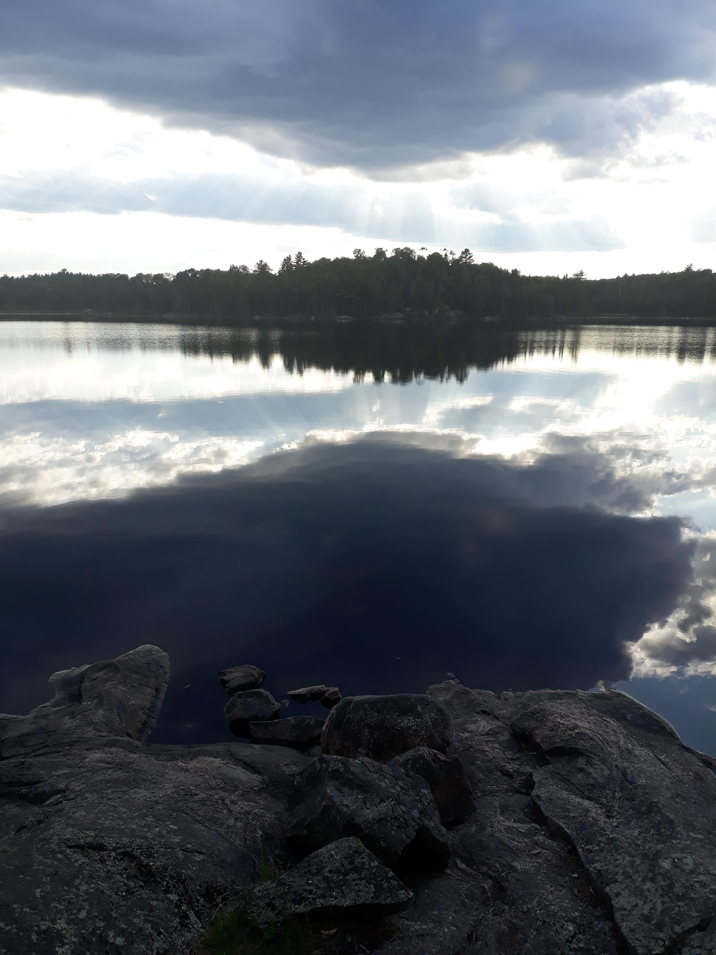 Boot Lake Dusk