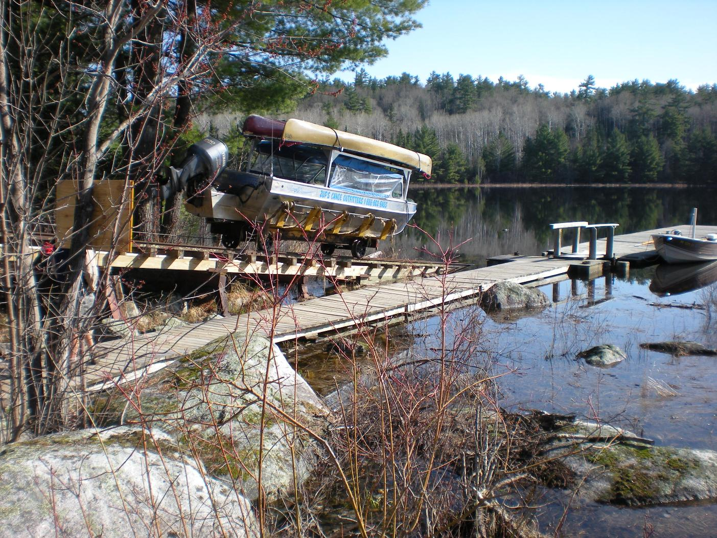 Mechanical Portage on the Loon River