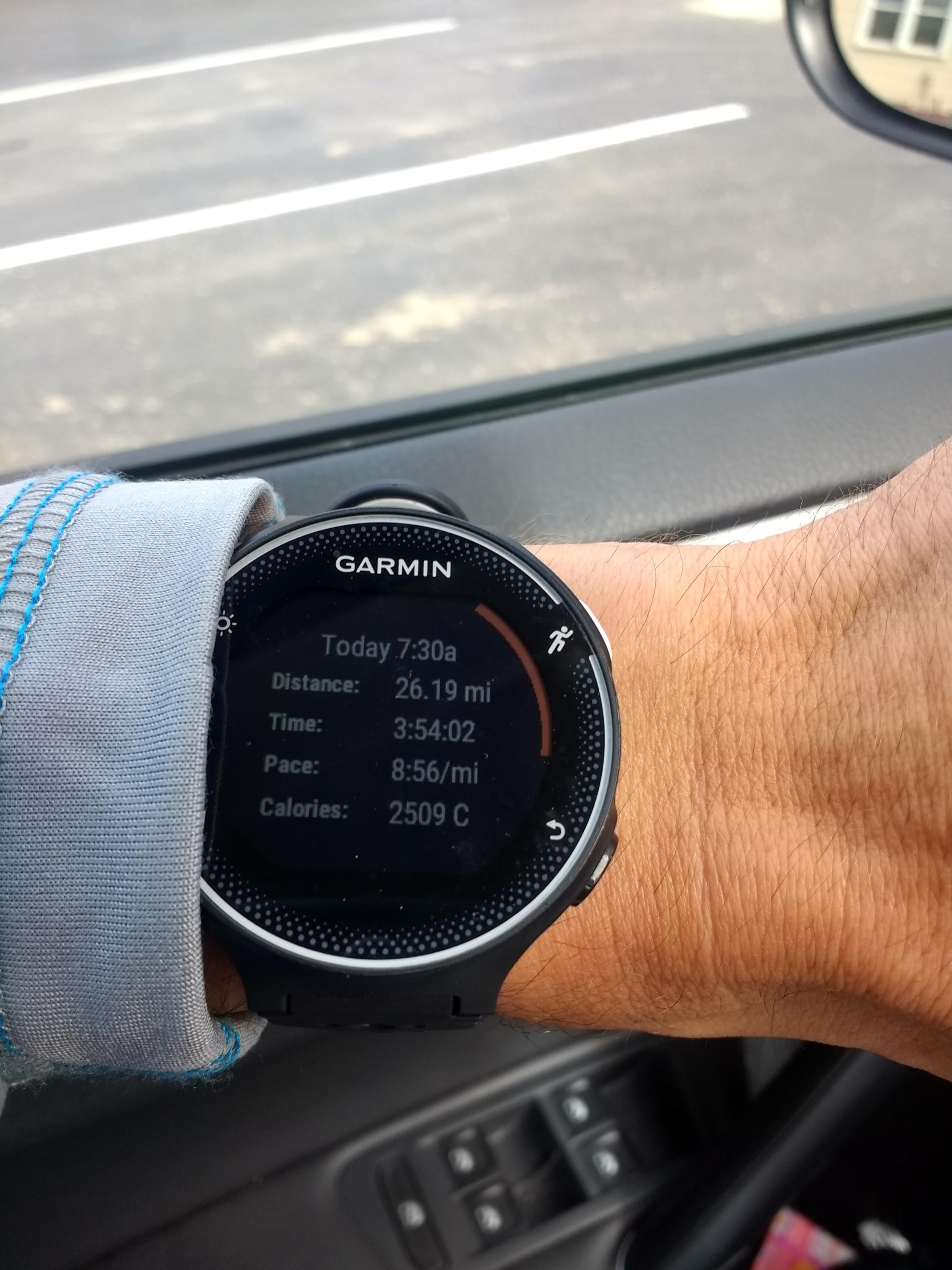 Ely Marathon Result