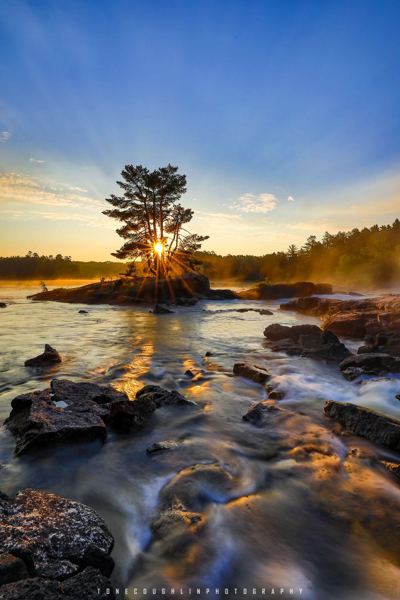 Basswood Falls - Upper Island