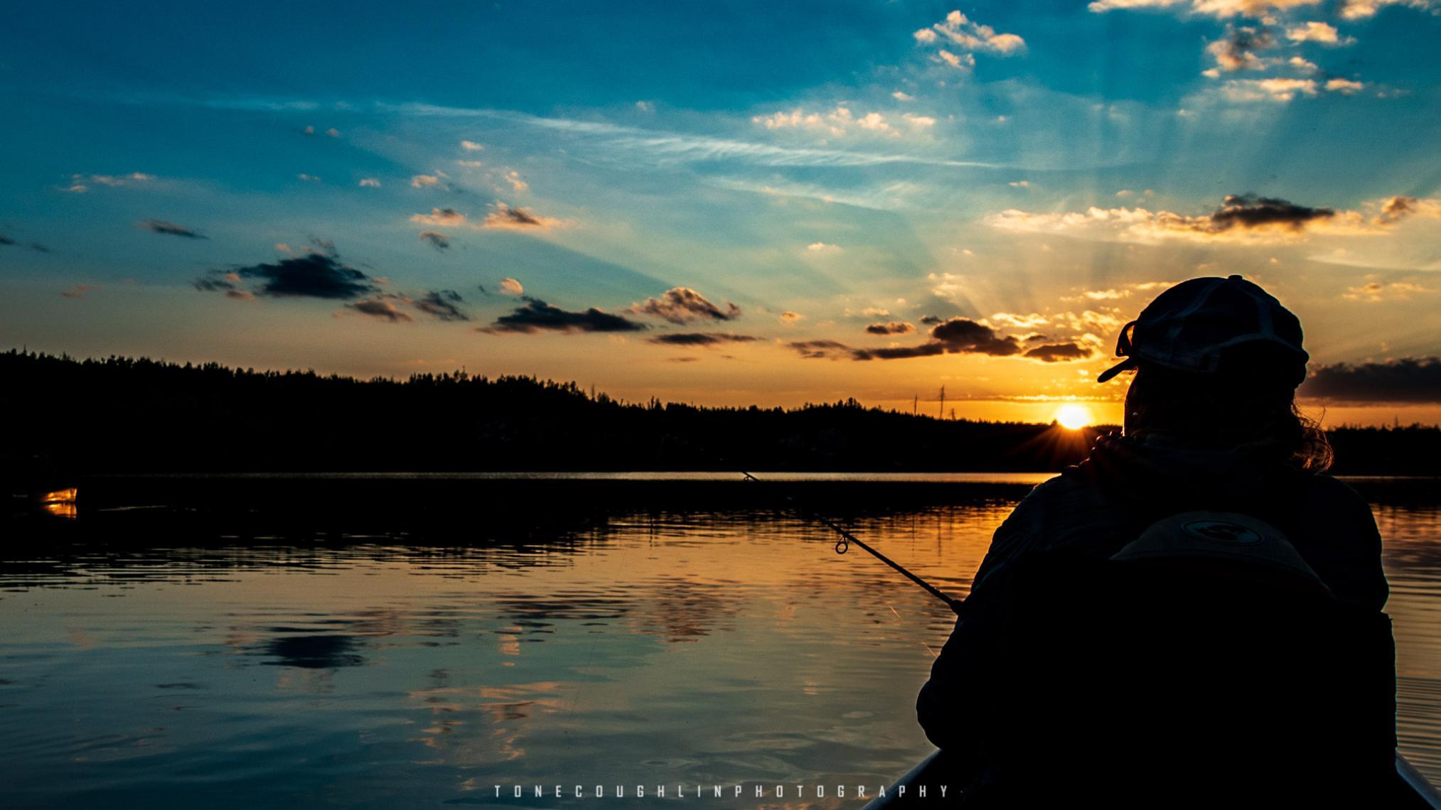 Gneiss Lake - Sunset Fishing