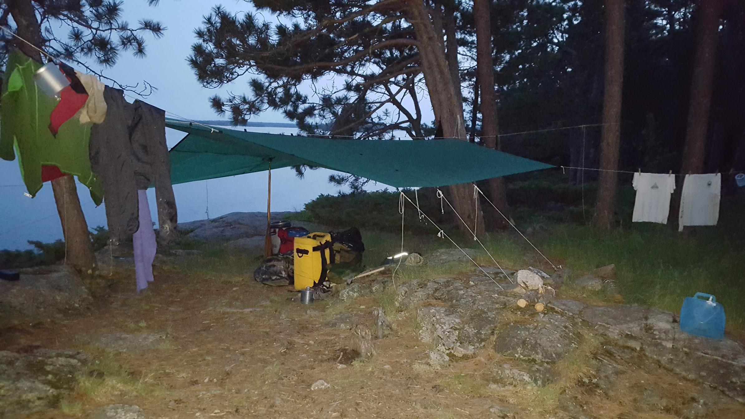 Camp on Sag