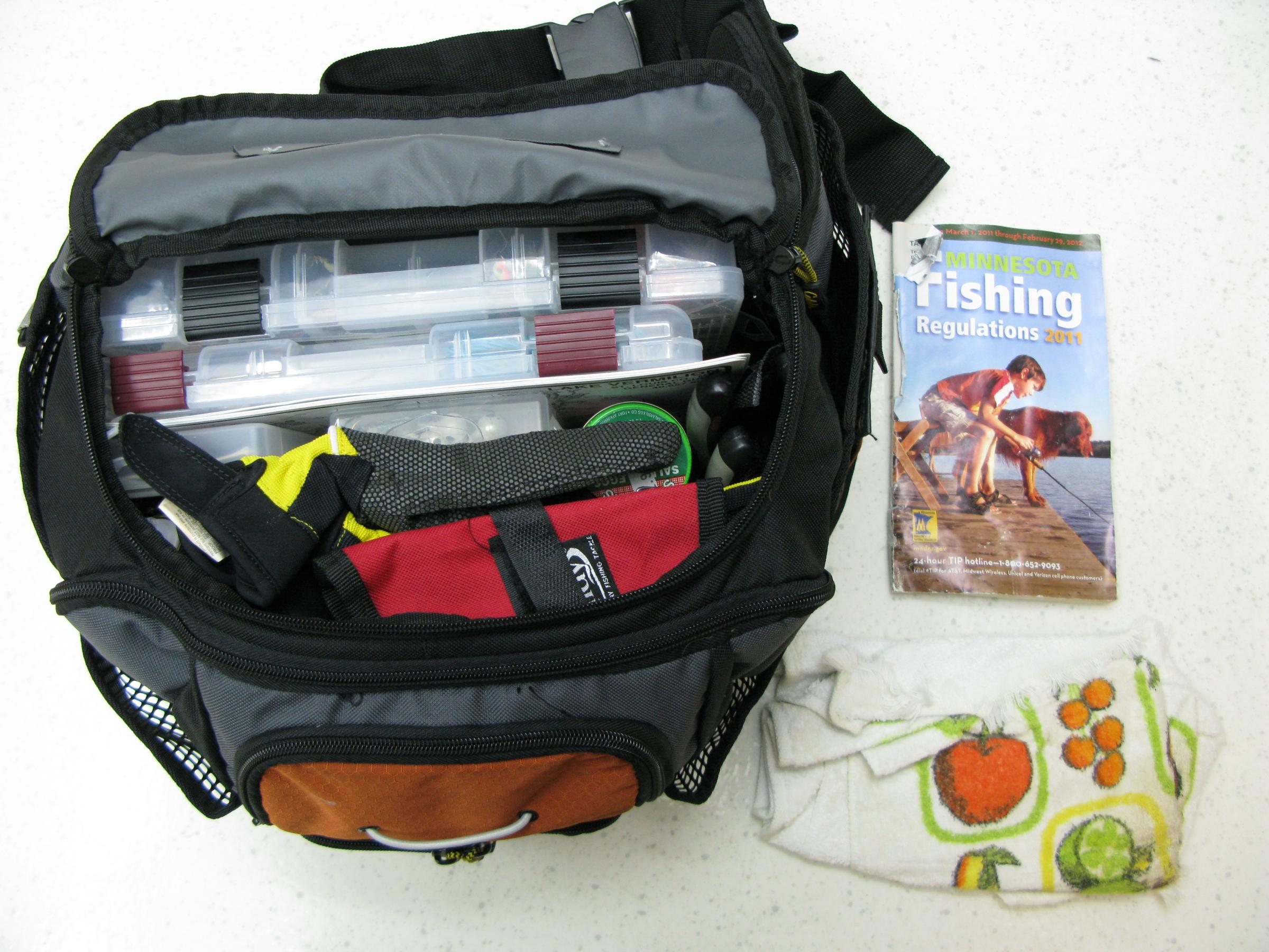 0430-XPG pack - Main compartment