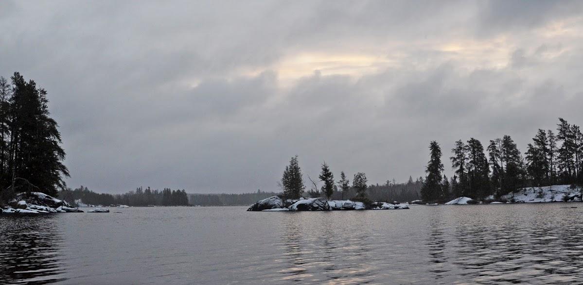 Morning on Lake One
