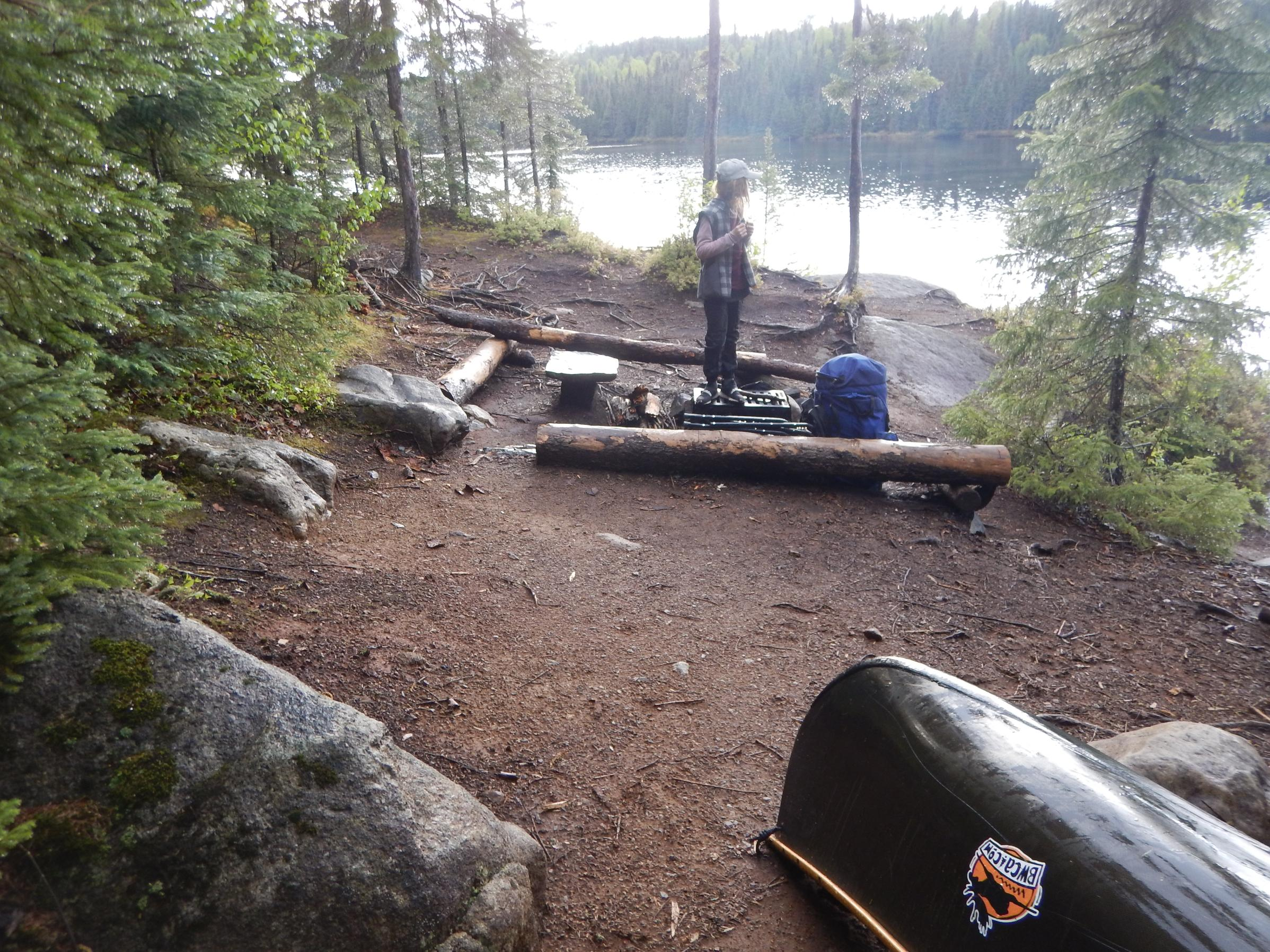 Snipe campsite #555
